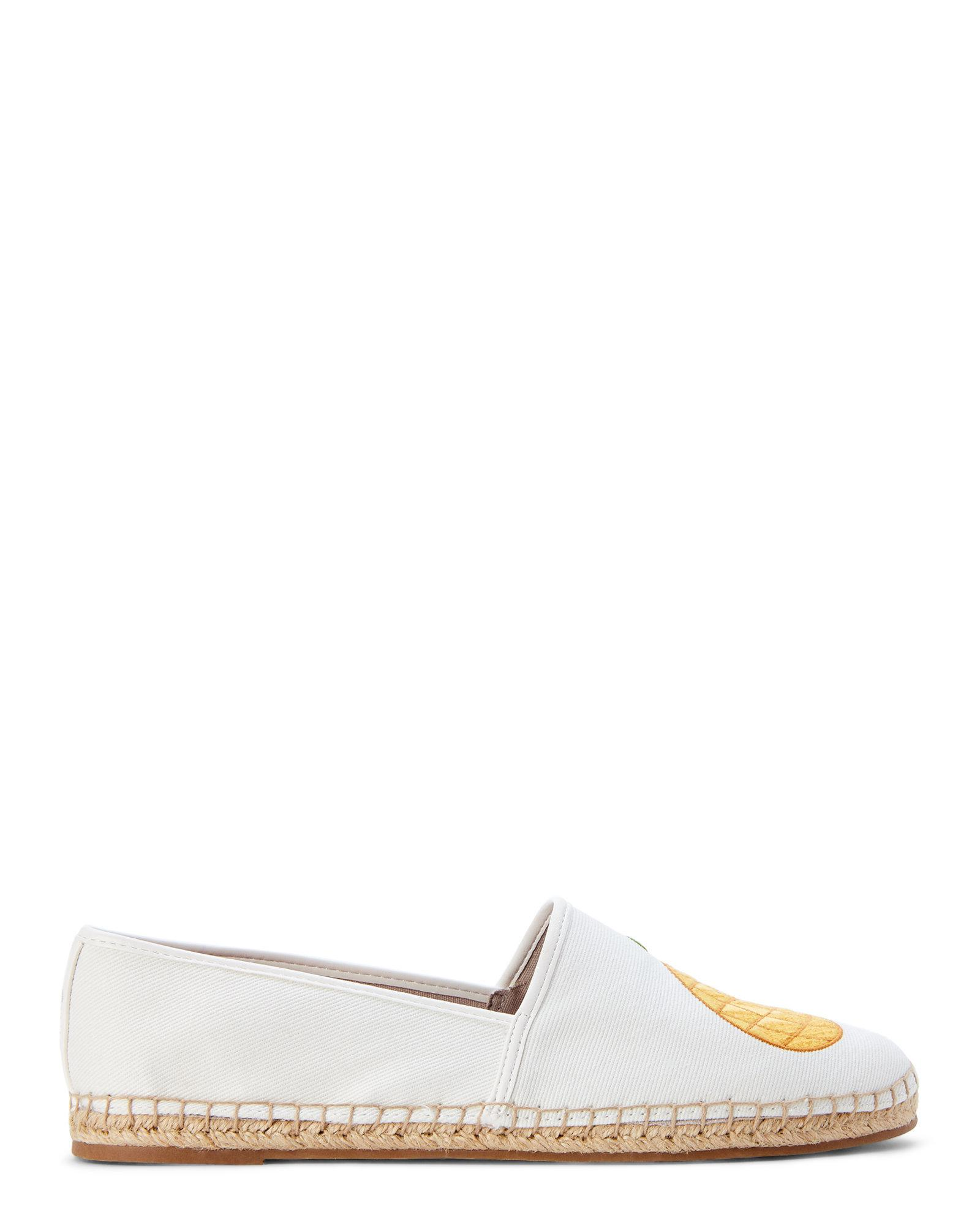 1e54cee86 Lyst - Circus by Sam Edelman Bright White Pineapple Palms Leni Flat ...