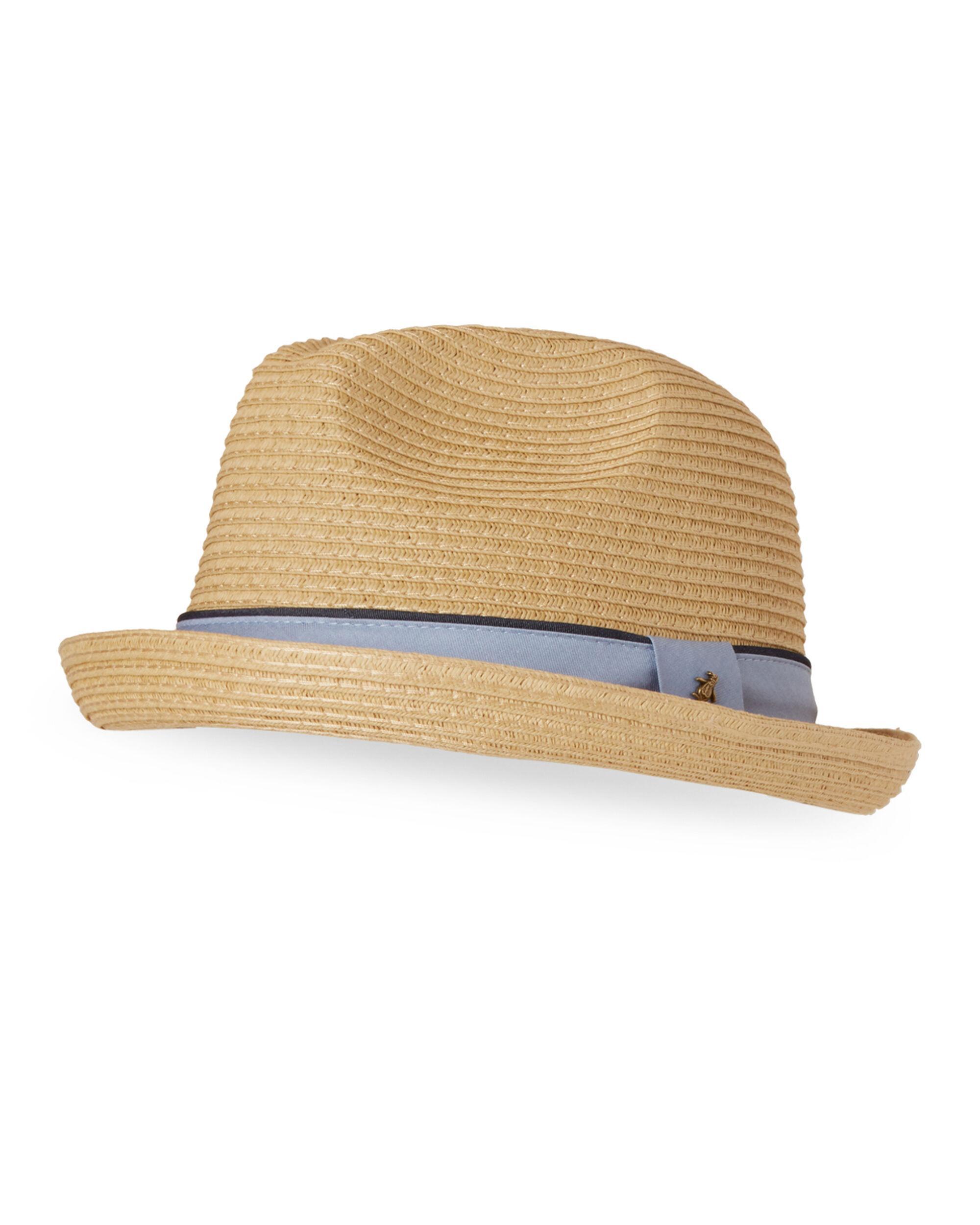 59f675ced45 Original Penguin Straw Pork Pie Hat in Natural for Men - Lyst