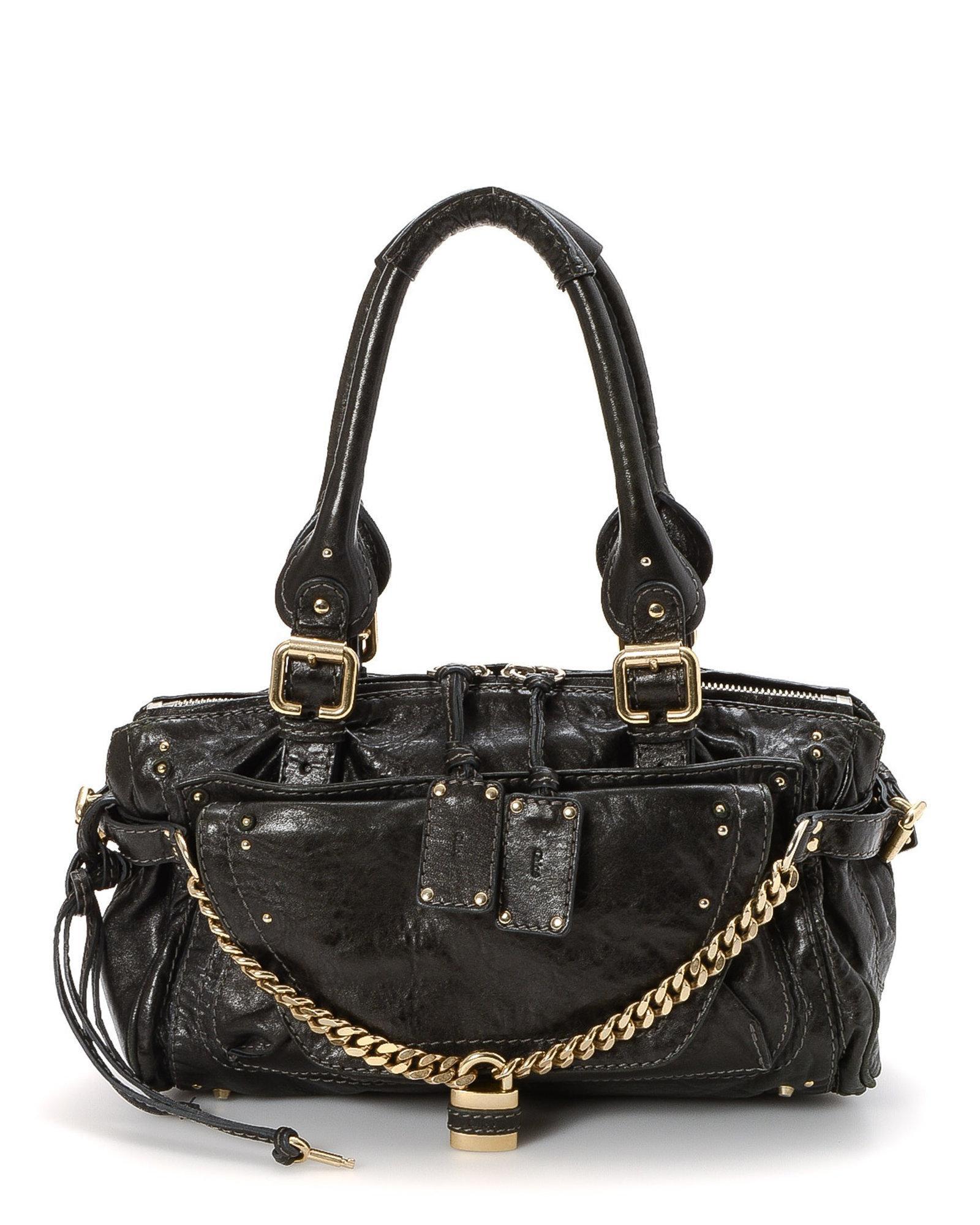 846cfe7d922a Lyst - Chloé Handbag - Vintage in Black