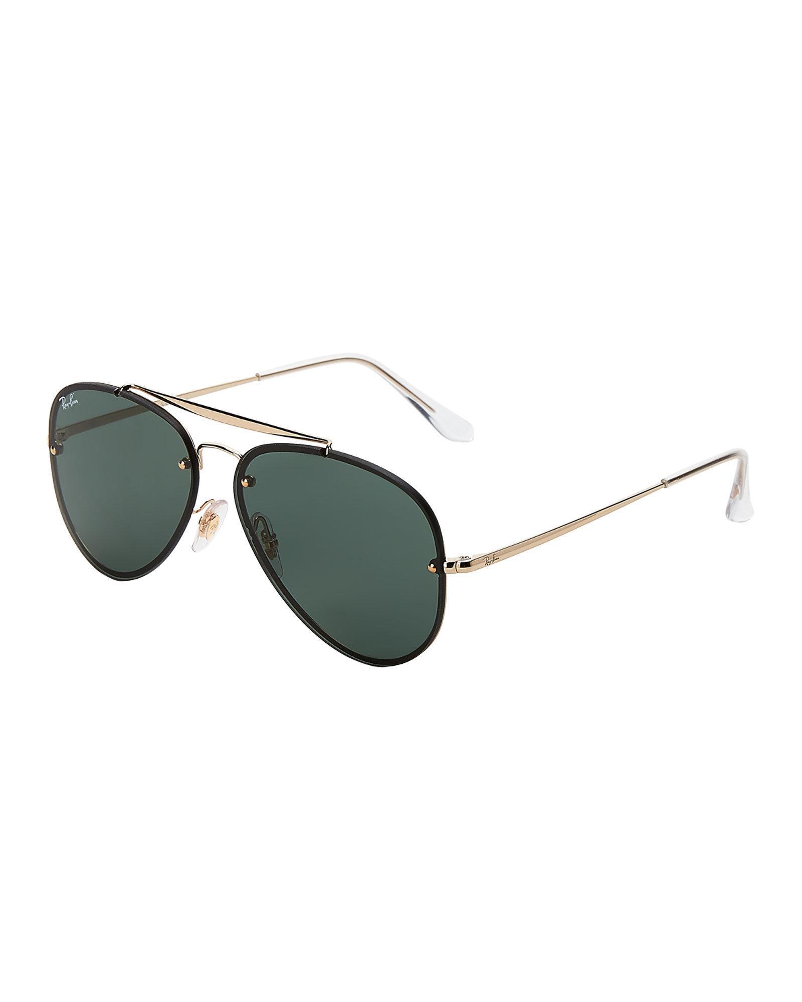3309312e739 Lyst - Ray-Ban Rb 3584 Gold-tone Aviator Sunglasses for Men