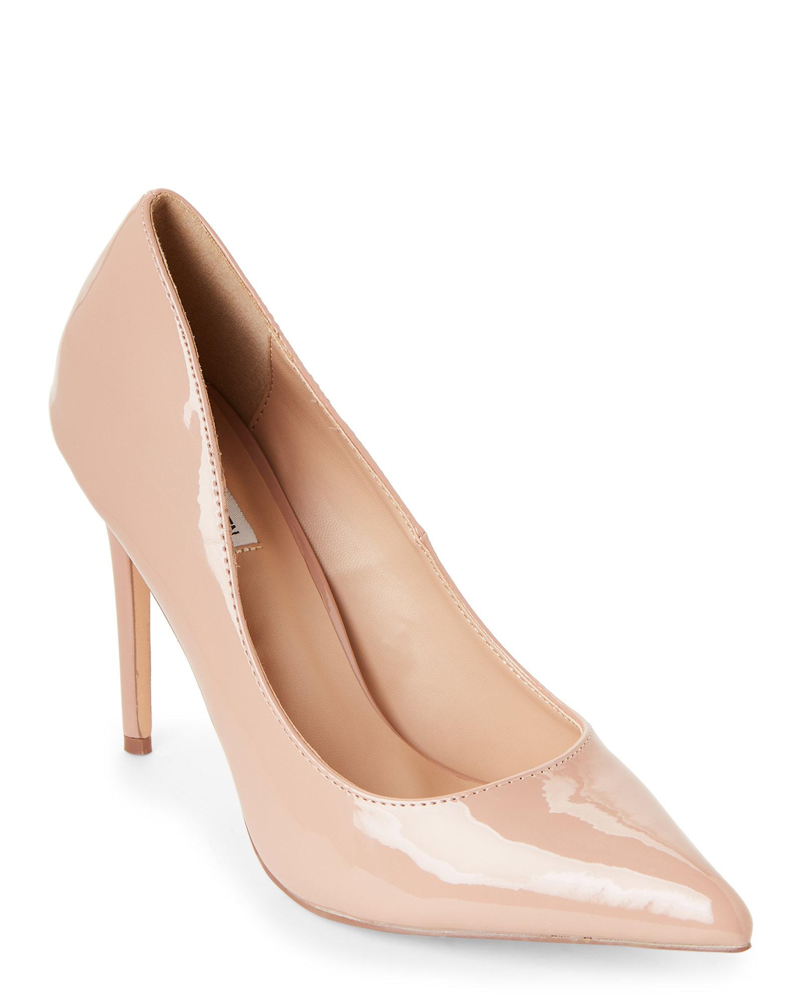 d41d6f1f9dd Lyst - Steve Madden Dark Blush Poet Pointed Toe Pumps