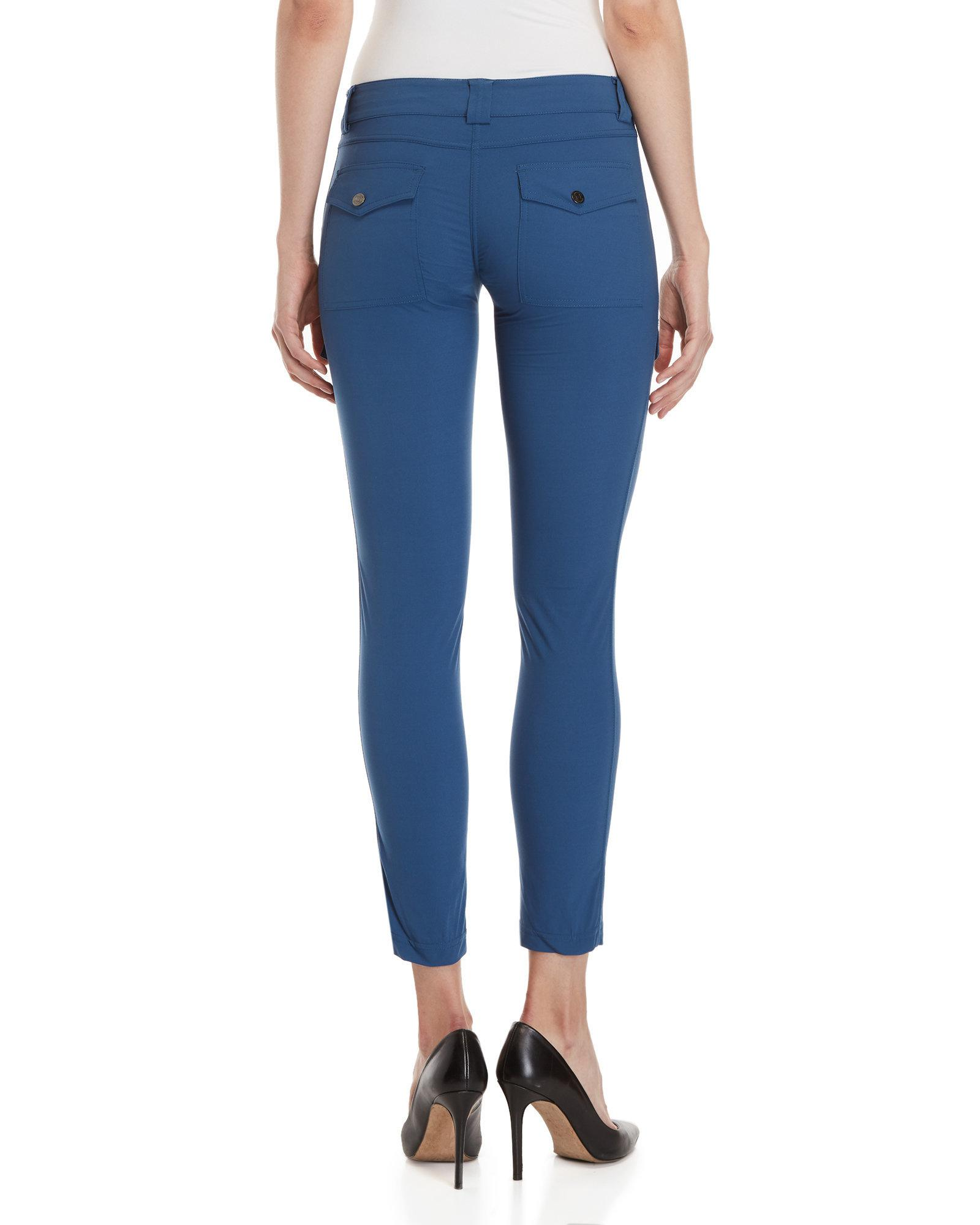 Lyst - Anatomie Kate Cargo Ankle Pants in Blue