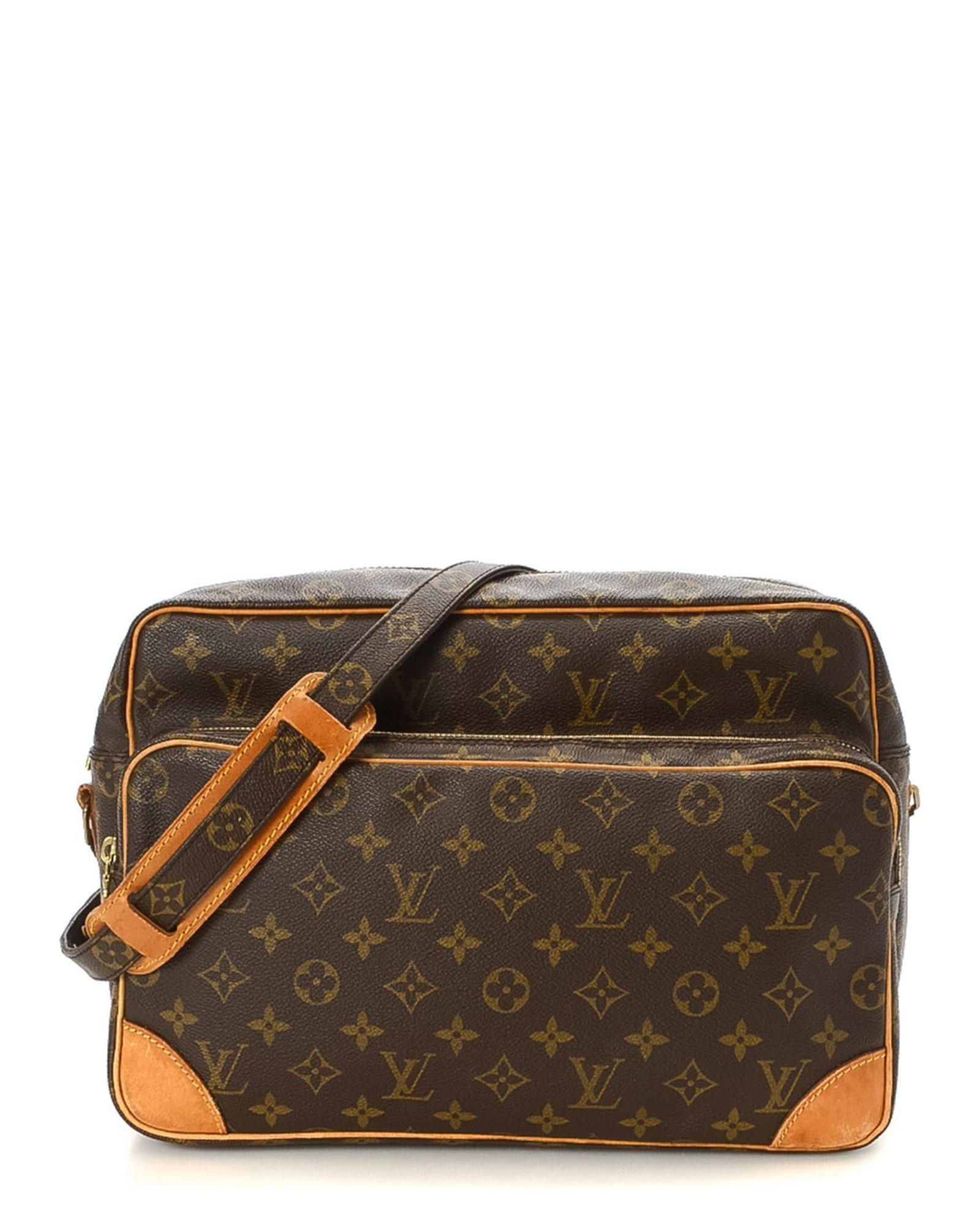 bc1b9edefe Lyst - Louis Vuitton Monogram Nil 34 Shoulder Bag - Vintage in Brown