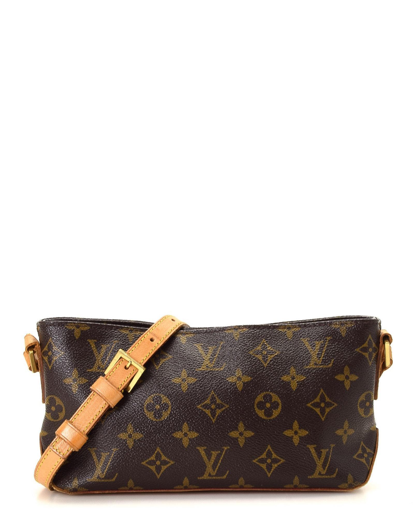 Lyst - Louis Vuitton Trotteur Monogram Crossbody Bag - Vintage in Brown 07093edde1ef6
