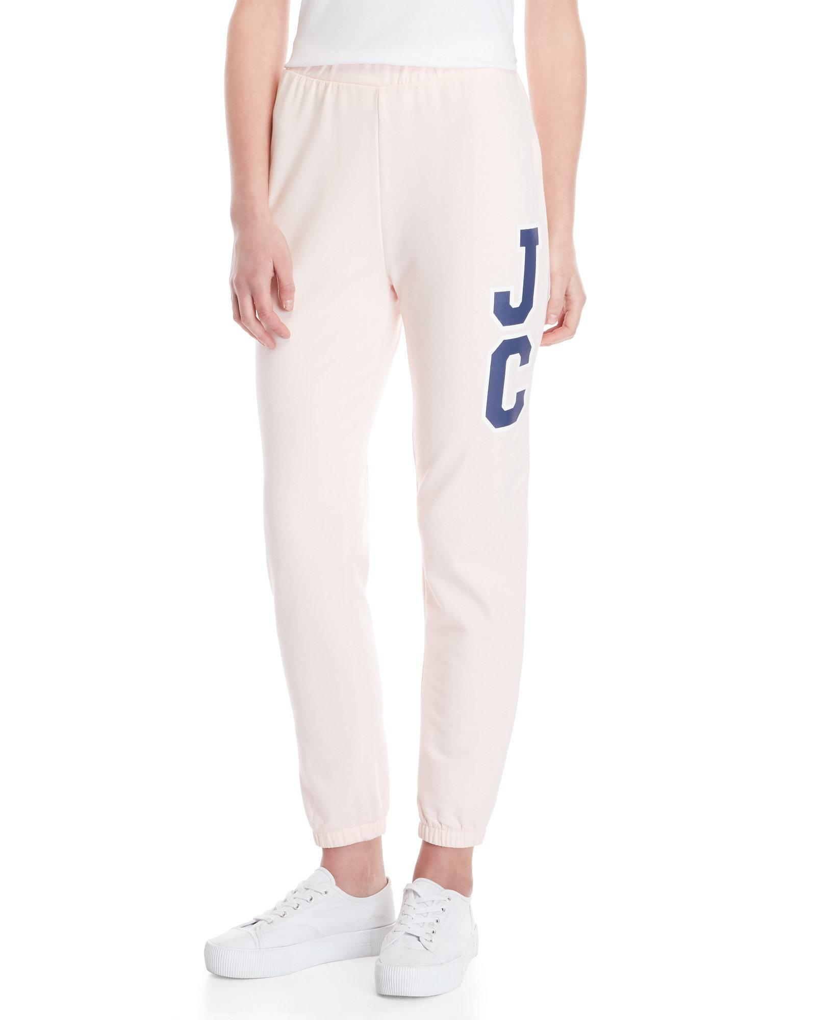 1c7977ba Lyst - Juicy Couture Pink Track Sweatpants in Pink