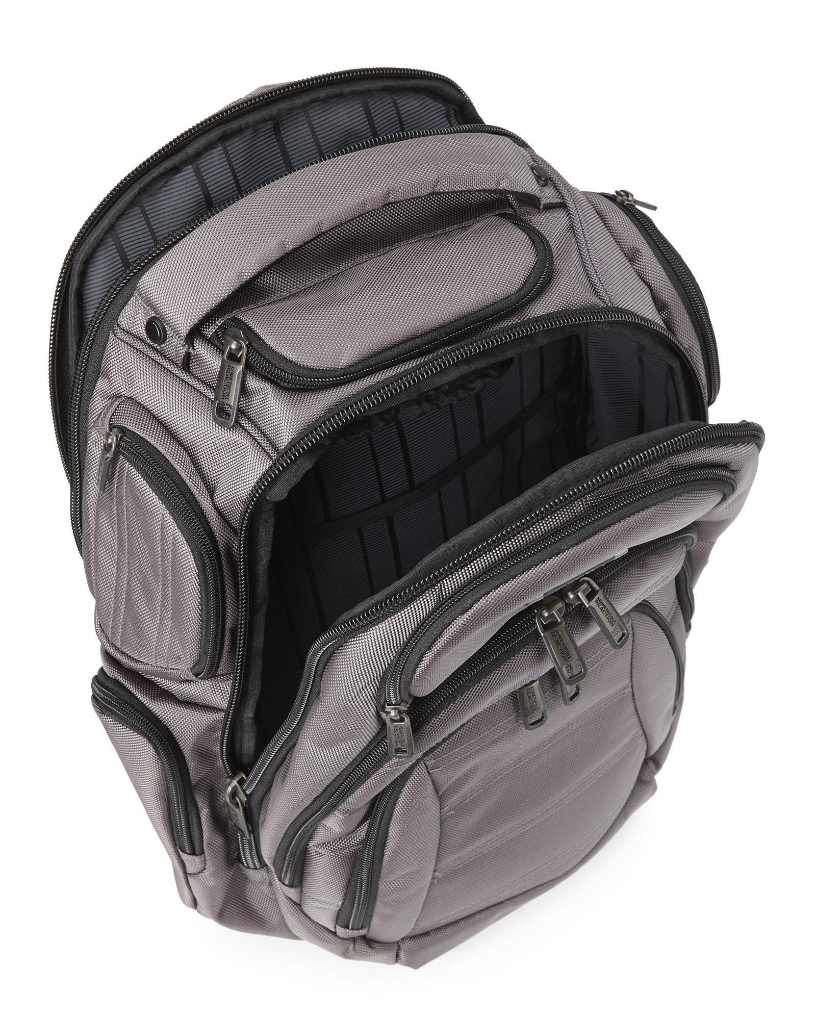 c540543f5 Kenneth Cole Reaction Pack Of All Trades Backpack in Gray for Men - Lyst