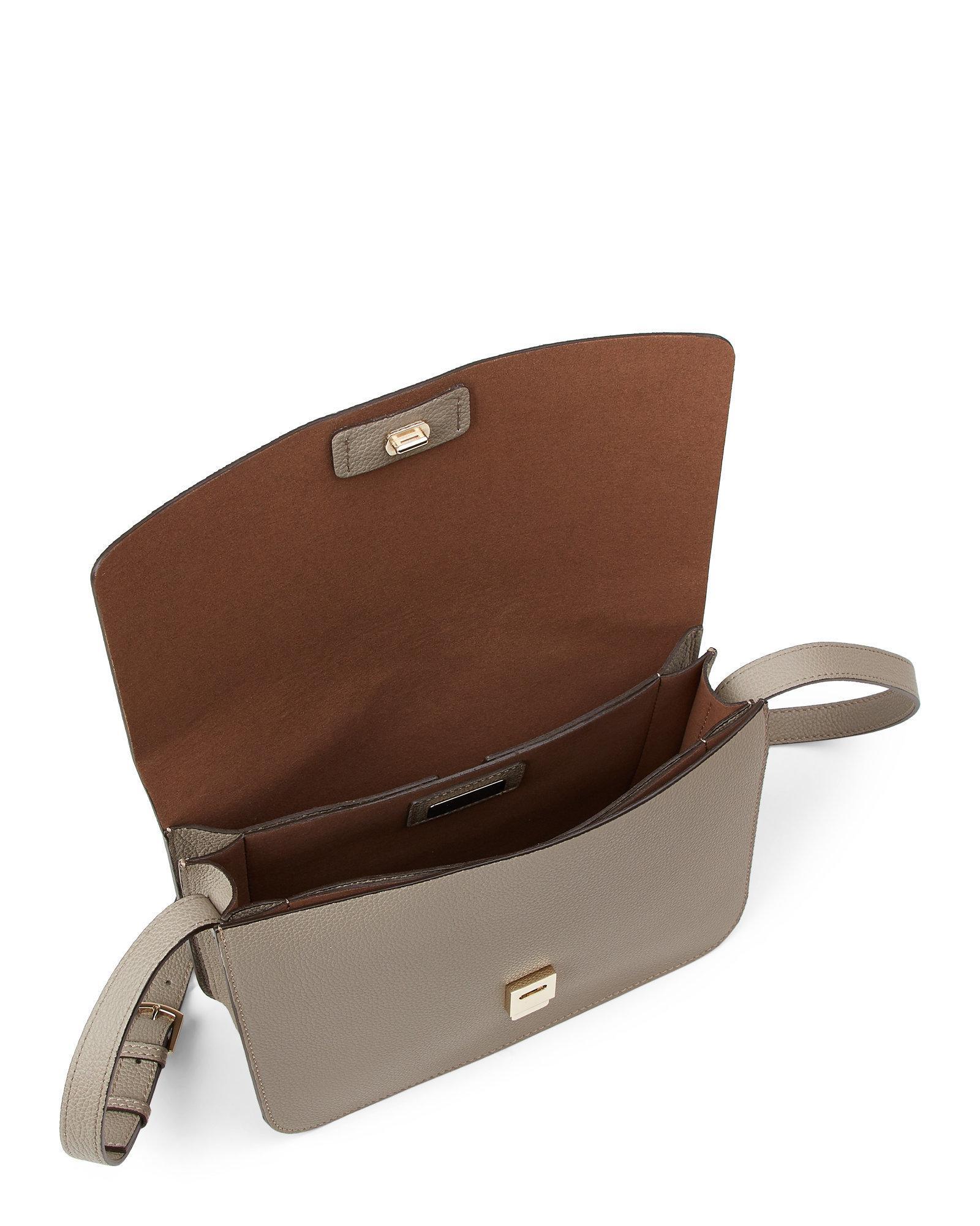 1f58f7852192 Lyst - Furla Sveva Medium Leather Crossbody