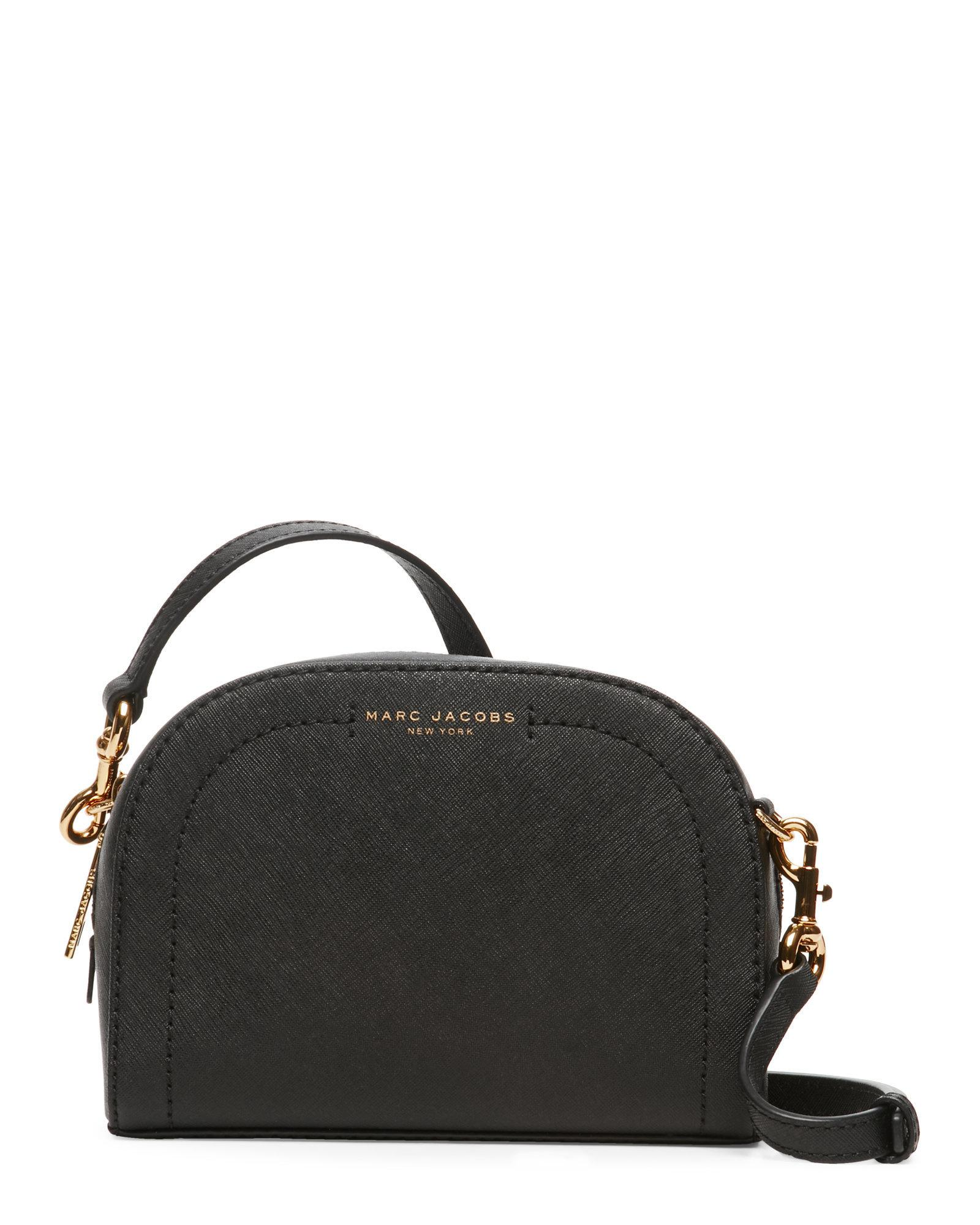 73e88655e Marc Jacobs Black Playback Crossbody in Black - Lyst