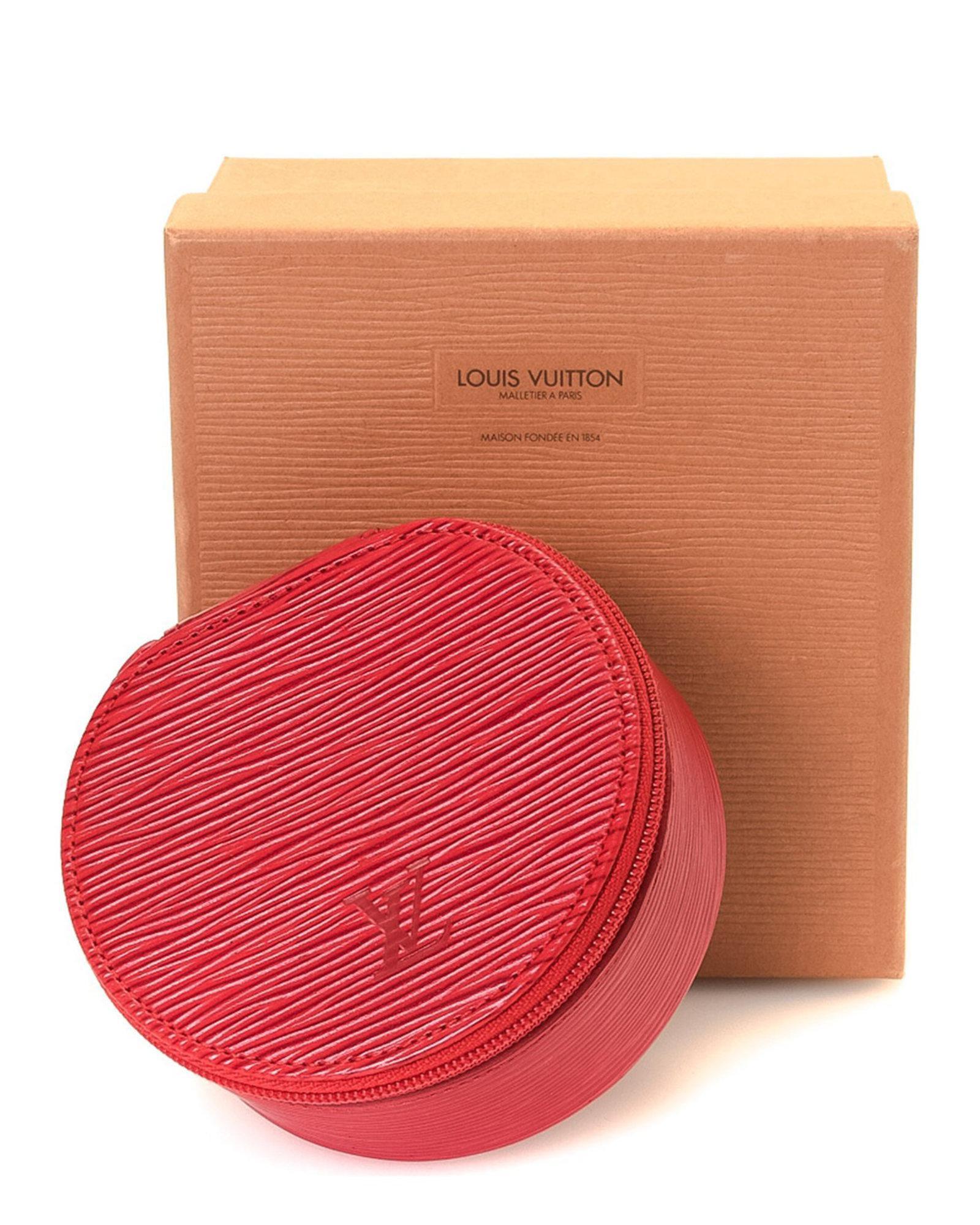 Lyst - Louis Vuitton Ecrin Bijoux 10 Epi Case - Vintage in Red