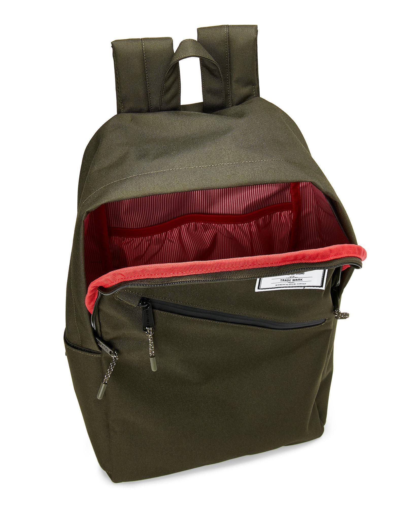 bf837900caf Lyst - Herschel Supply Co. Forest Parker Laptop Backpack in Green ...