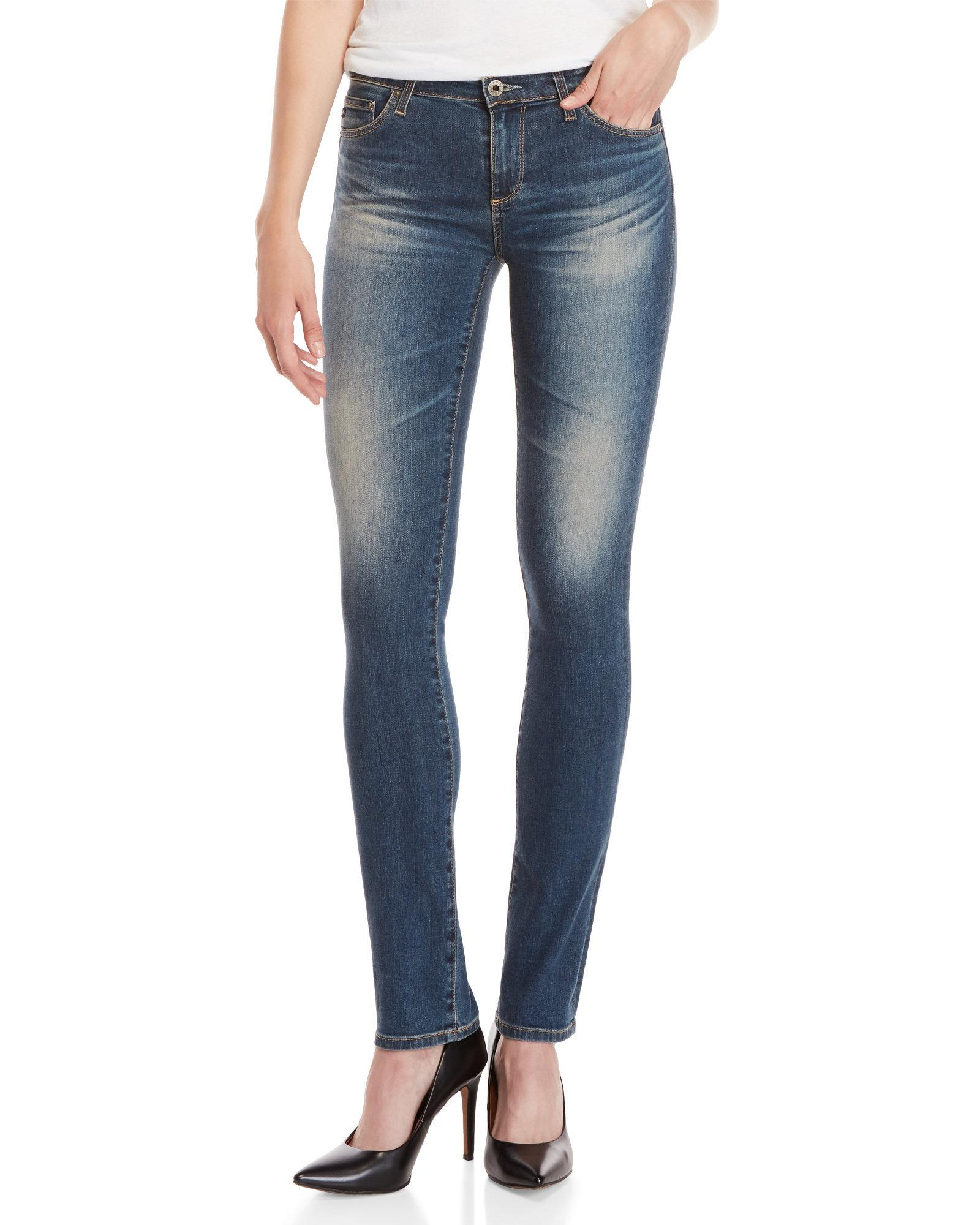 335be46ae24e Lyst - Ag Jeans The Harper Essential Straight Leg Jeans in Blue