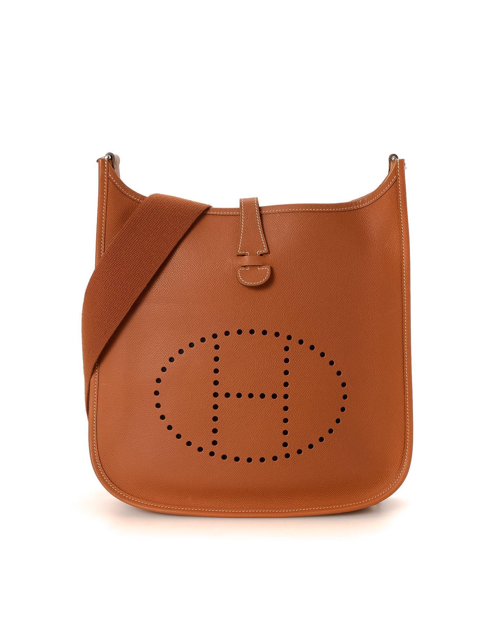 601853f74277 Lyst - Hermès Crossbody Bag - Vintage in Brown