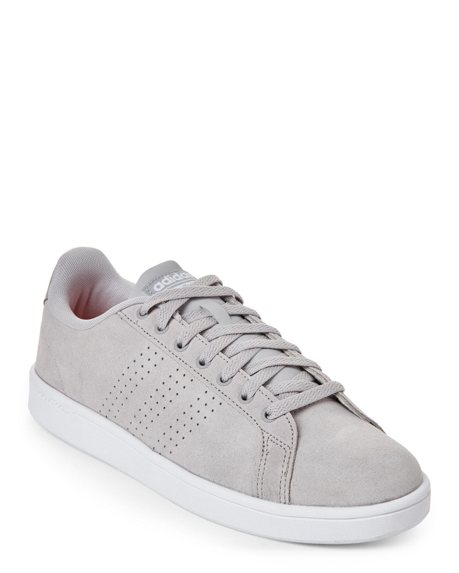 White amp; Low Clean Adidas Cloudfoam Top Lyst Grey Neo Advantage 6qgtEwEC