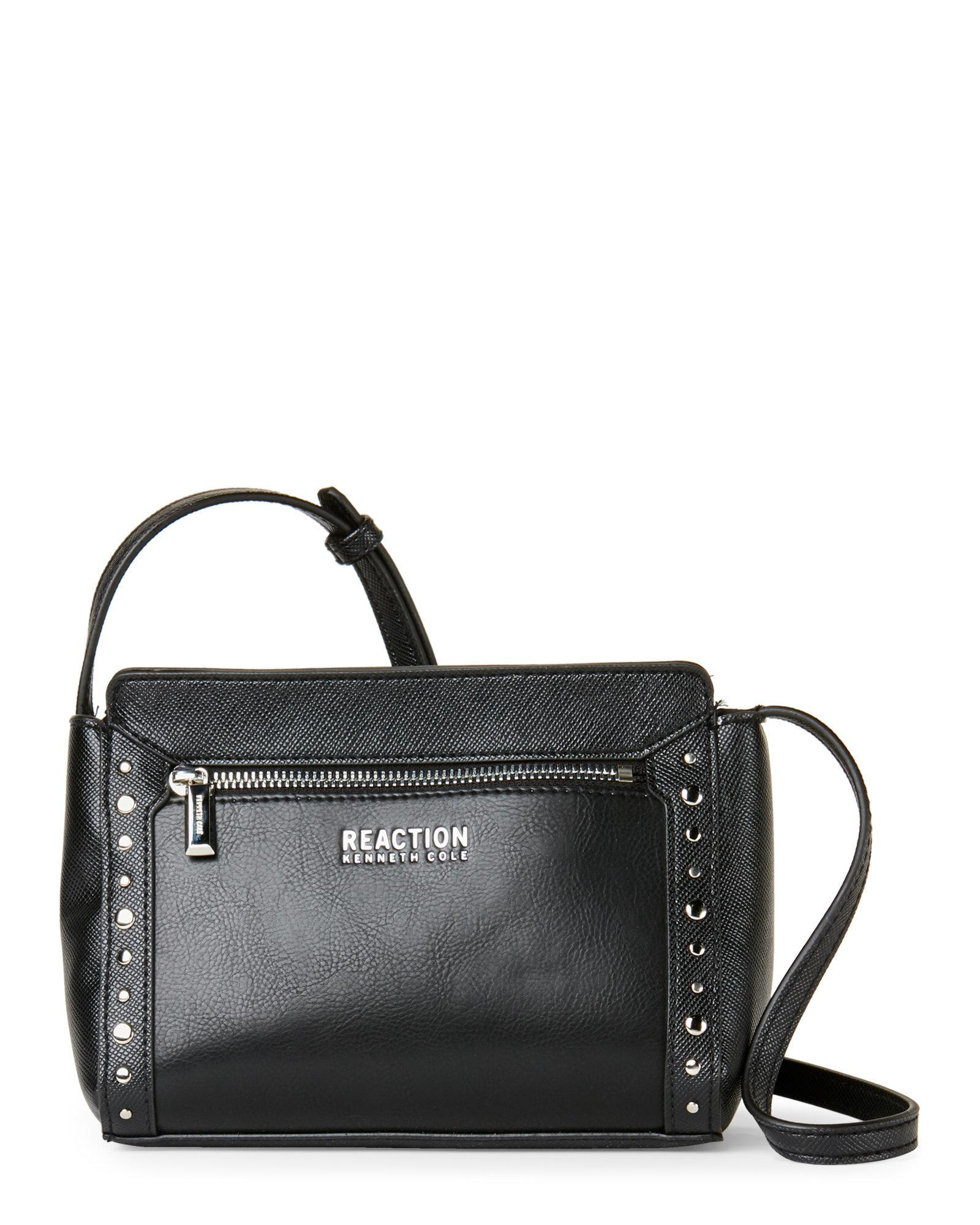 75da8a16b5d4 Lyst - Kenneth Cole Reaction Black Dana Mini Crossbody in Black