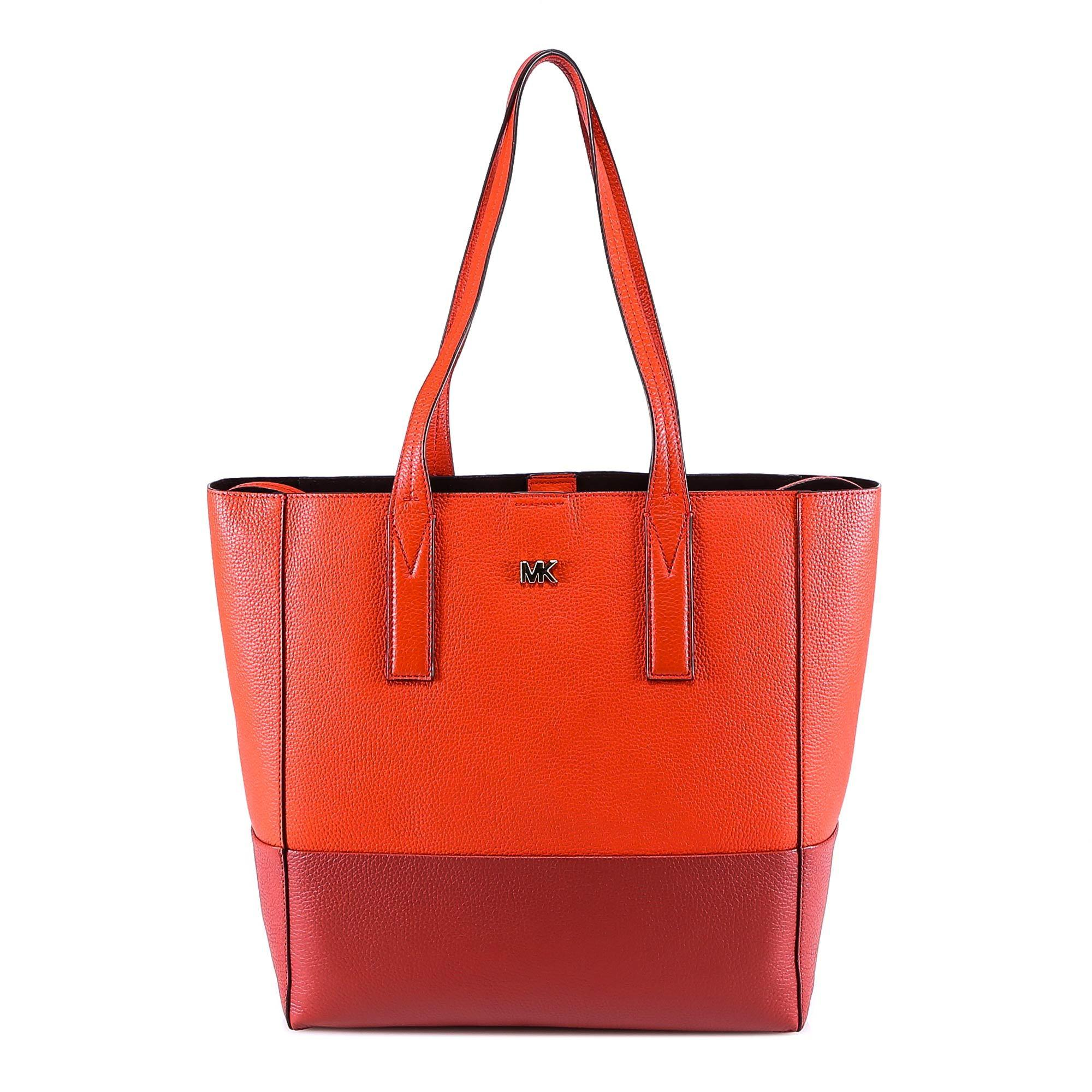 28c48a41e9508 Lyst - MICHAEL Michael Kors Large Junie Tote Bag in Red