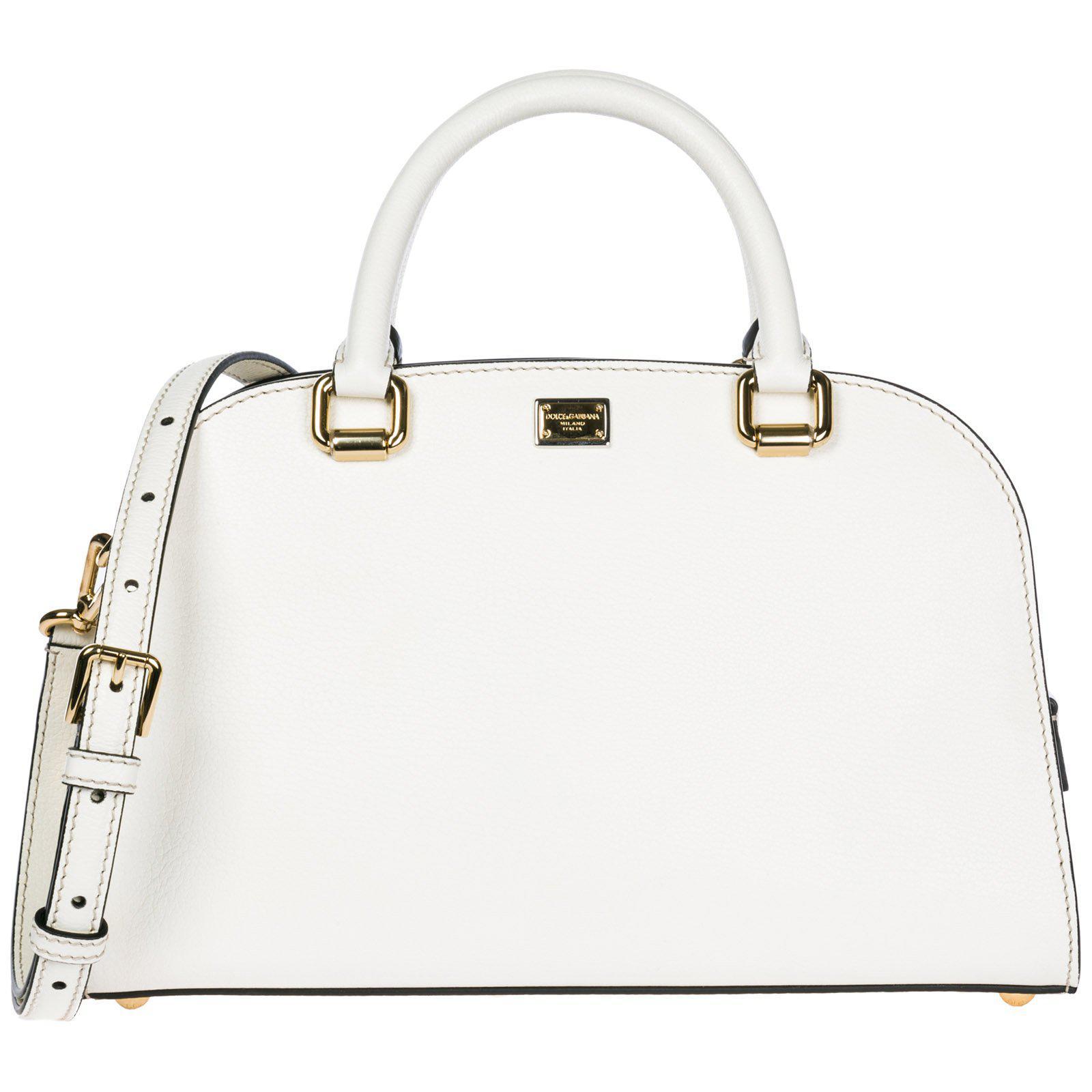101e1ed2ac0b Lyst - Dolce   Gabbana Medium Isabella Tote Bag in White