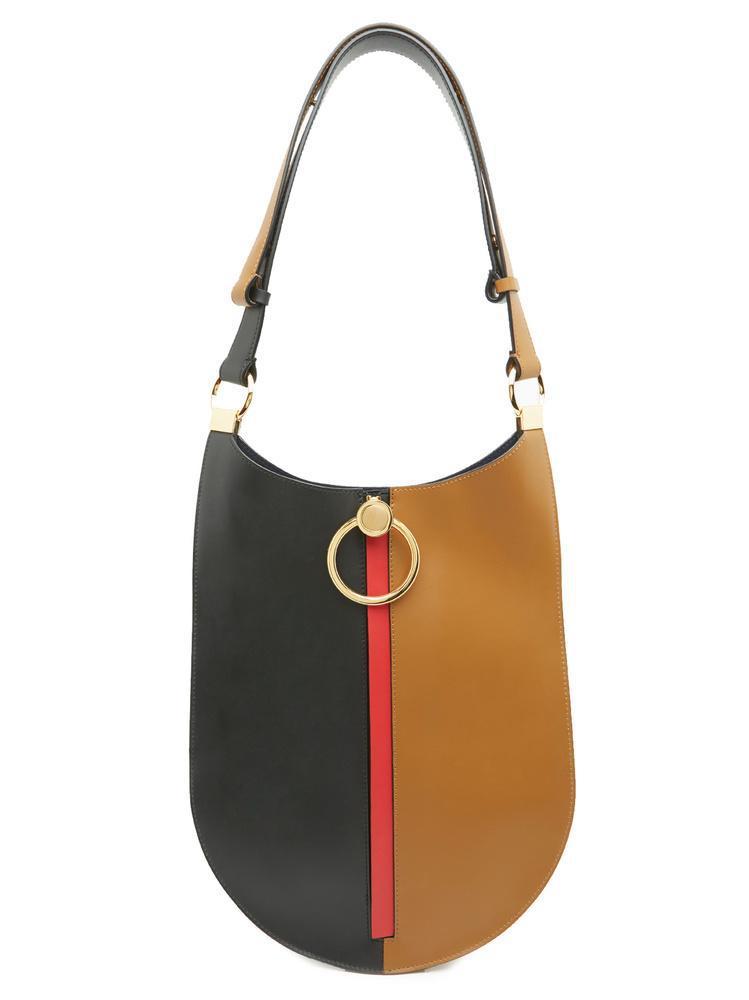04f79688fc0b Marni Bi-colour Gold Detail Shoulder Bag in Brown - Lyst