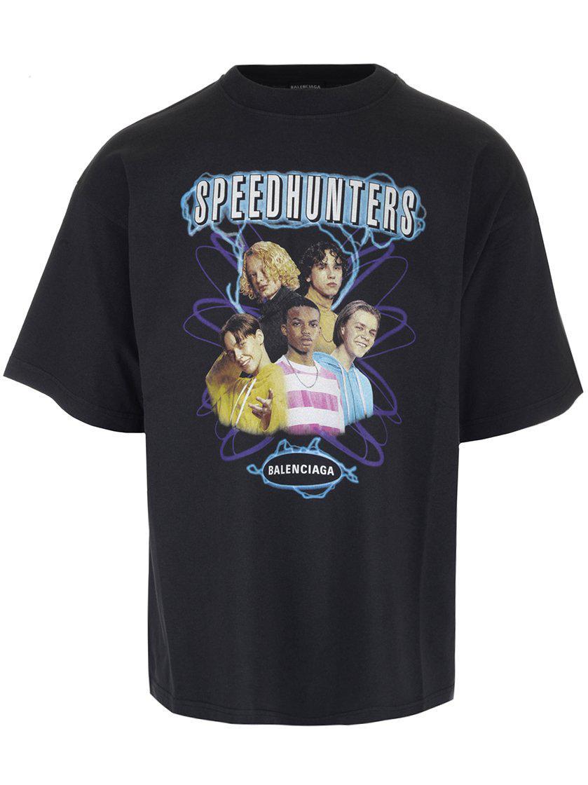 04b2ddf55 Balenciaga Speedhunters T-shirt in Black for Men - Lyst