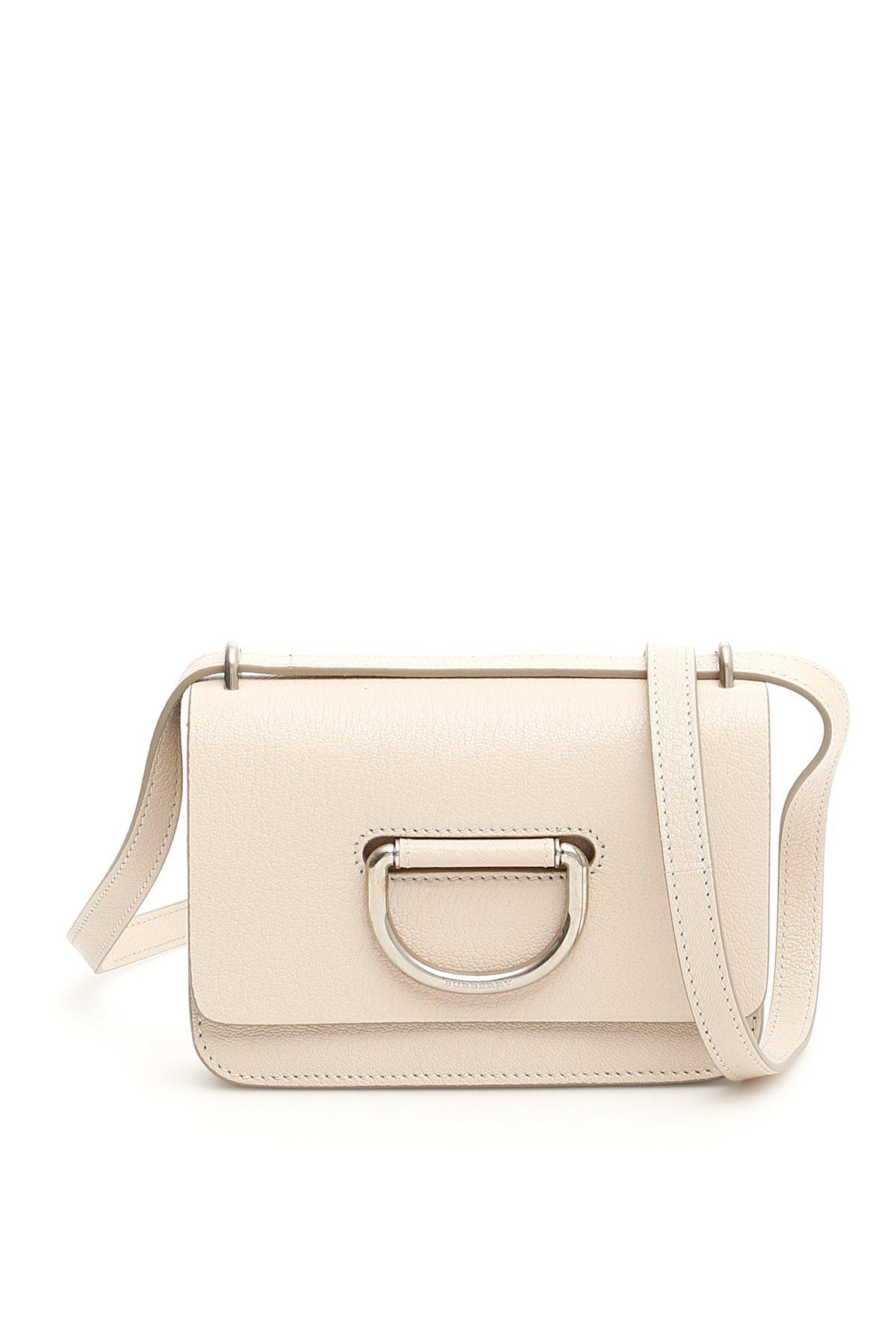 70f5b05f06cd Burberry Mini D Ring Crossbody Bag in Natural - Lyst