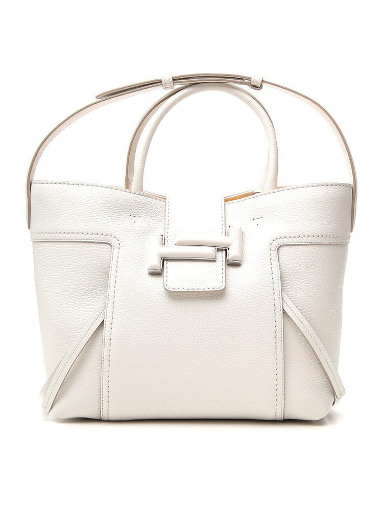 0f900f4405 Lyst - Tod's Double T Tote Bag in White