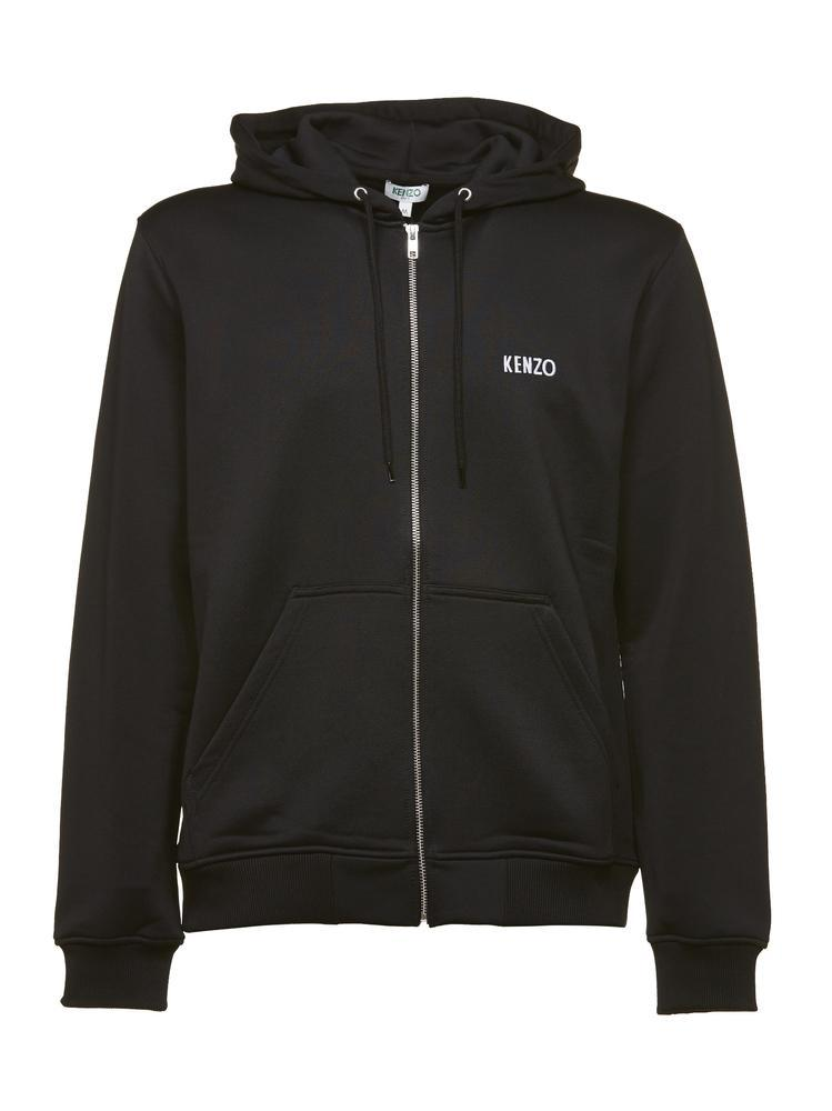 ab64948f6 KENZO Embroidered Dragon Logo Design Hoodie in Black for Men - Lyst
