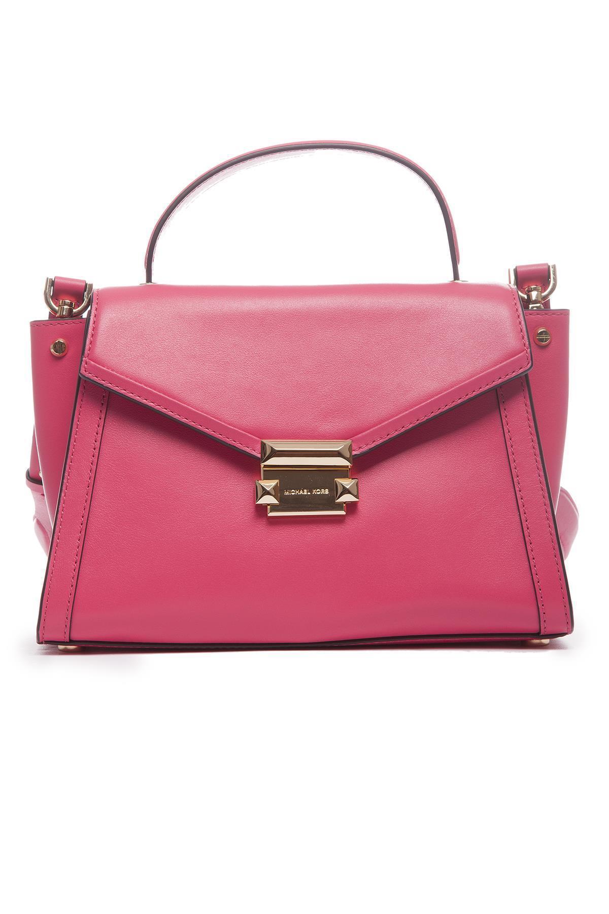 262498f4f43f4d Lyst - Michael Michael Kors Whitney Medium Tote Bag in Pink