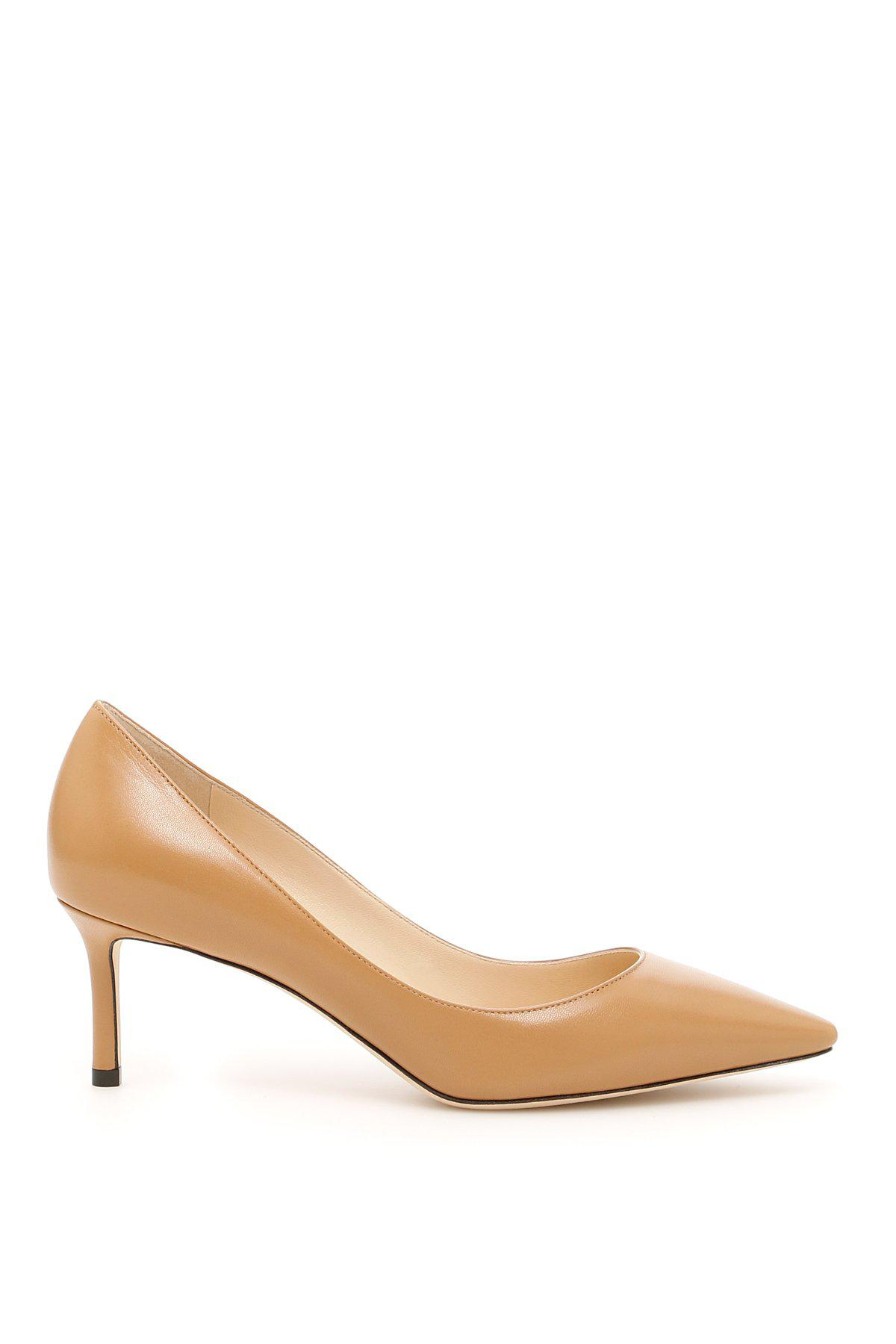 cb1e9a4a0c4 Lyst - Jimmy Choo Romy 60 Pumps in Natural
