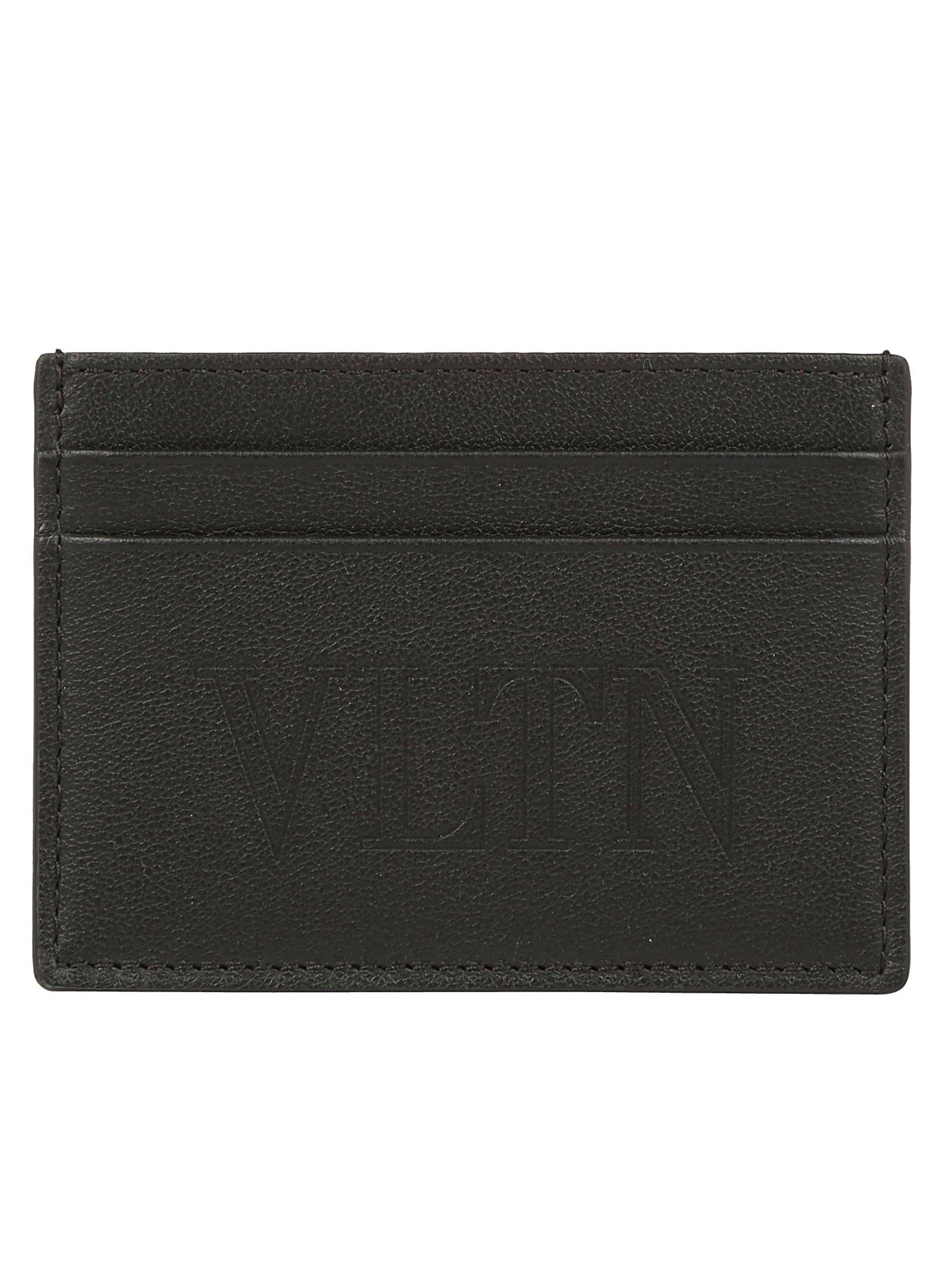 90274b41b6161 Lyst - Valentino Garavani Small Card Holder in Black for Men