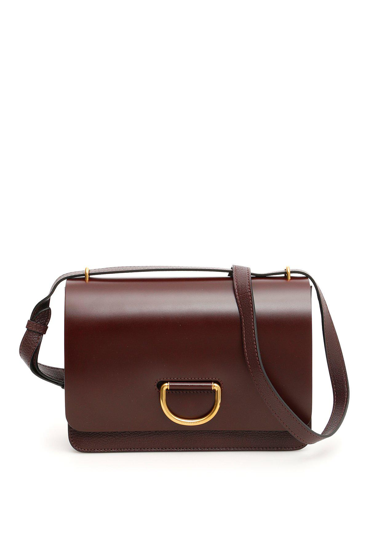 881185ca20b3 Lyst - Burberry D Ring Shoulder Bag in Brown