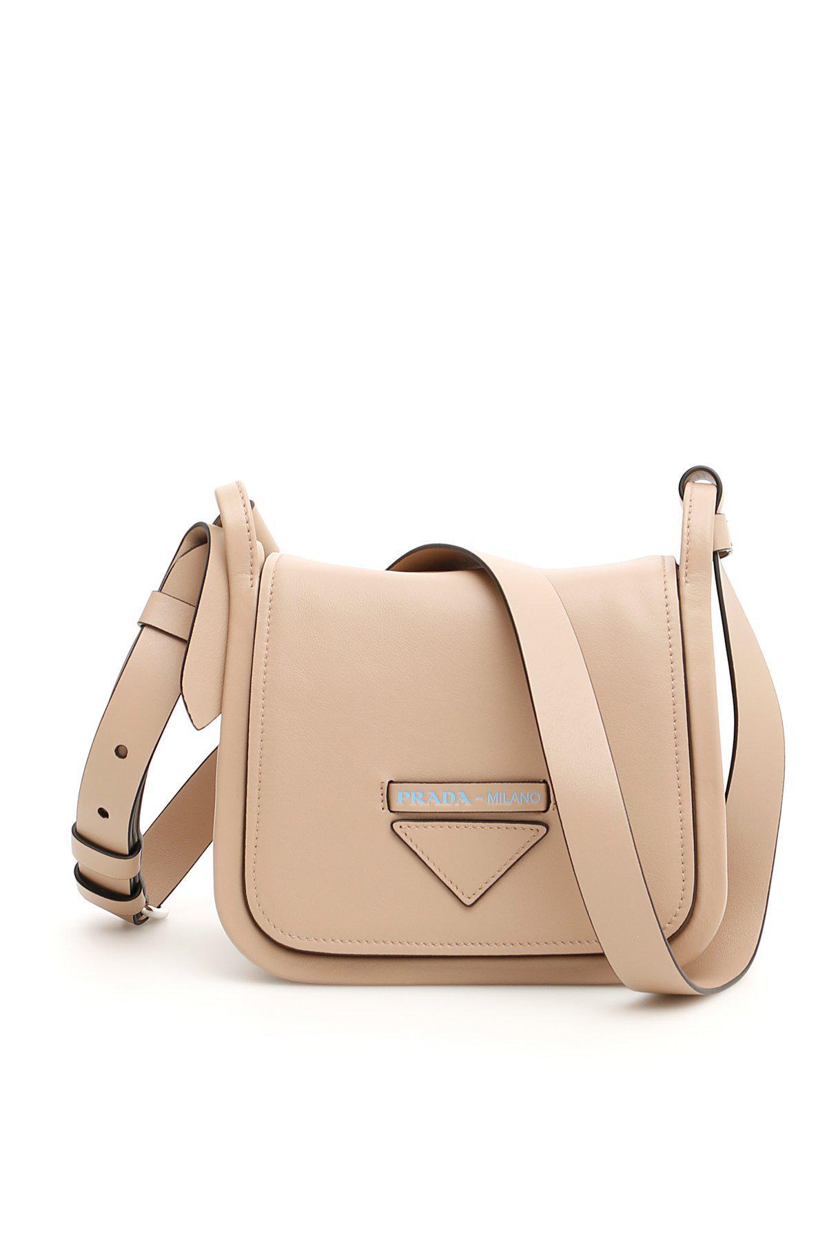 Lyst - Prada Concept Shoulder Bag in Natural 854ca43a2cb76