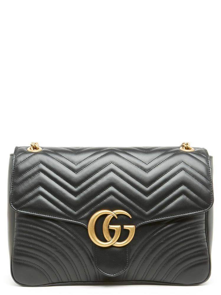 cbb8b4bd5b62 Lyst - Gucci GG Marmont 2.0 Shoulder Bag in Black - Save 12%