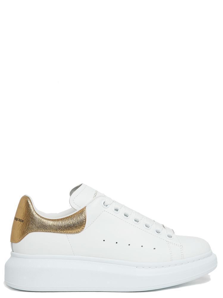 0394ead32671 Lyst - Alexander McQueen Chunky Sole Sneakers in White