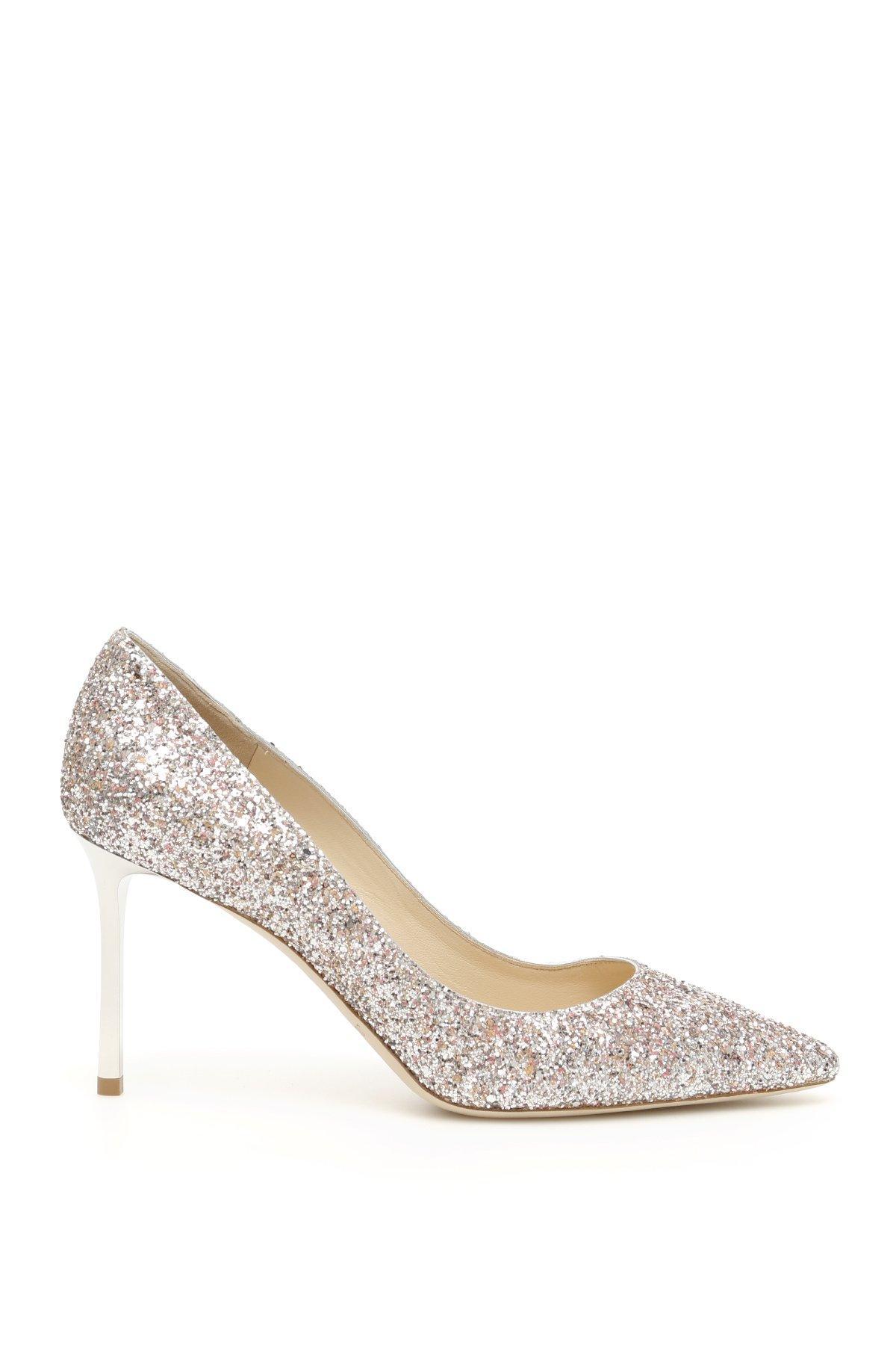 b31ad72efc Jimmy Choo. Women's Metallic Romy 85 Glitter Court Shoes