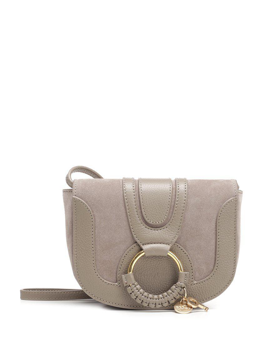 57cda5440ff7 Lyst - See By Chloé Mini Hana Crossbody Bag in Gray