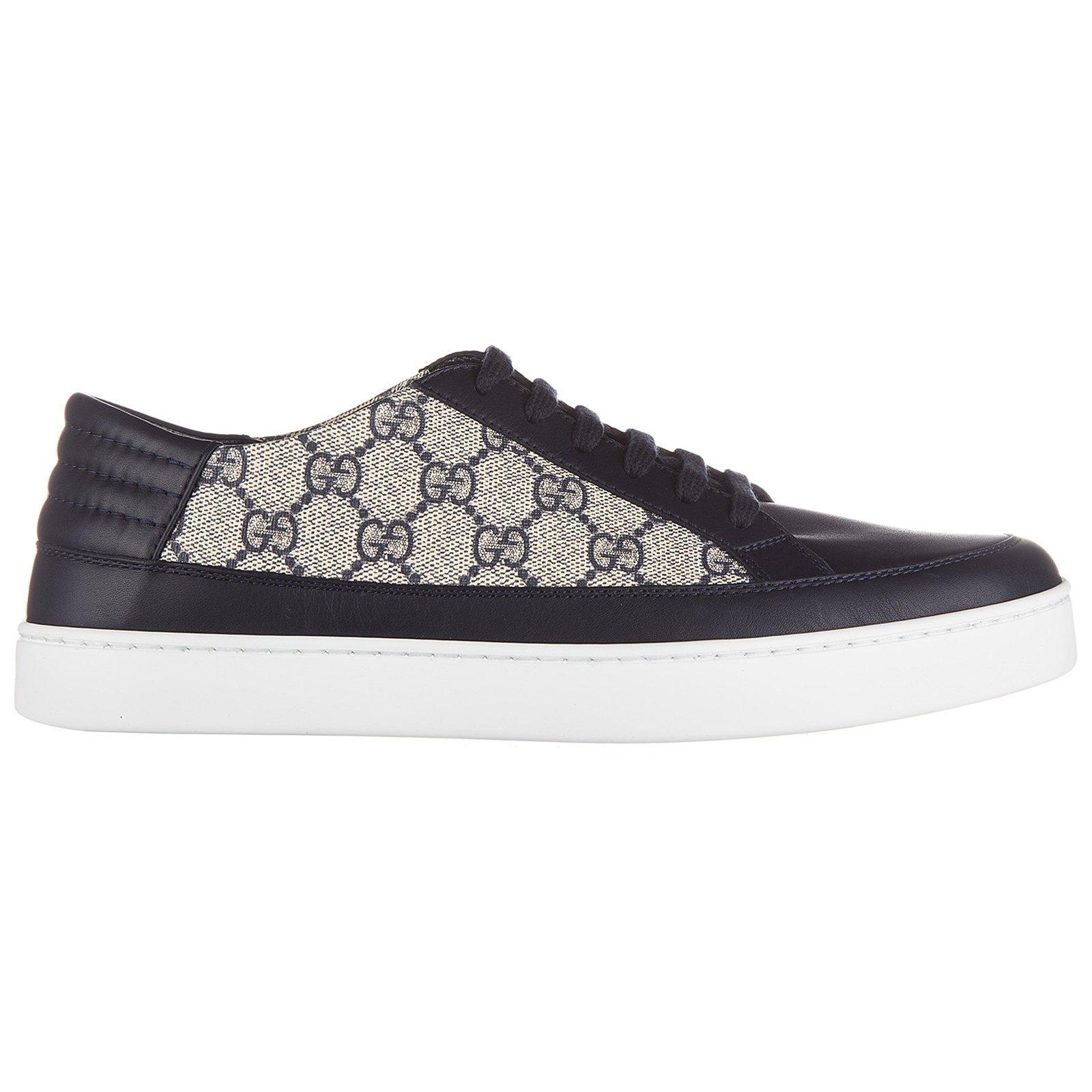 cceec1dccaa Lyst - Gucci Supreme Low-top Sneakers in Black for Men