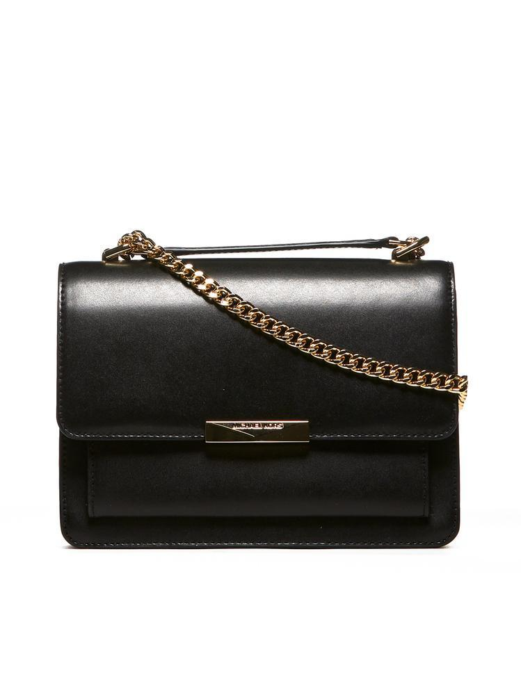 3317c60d4 Lyst - MICHAEL Michael Kors Jade Large Shoulder Bag in Black