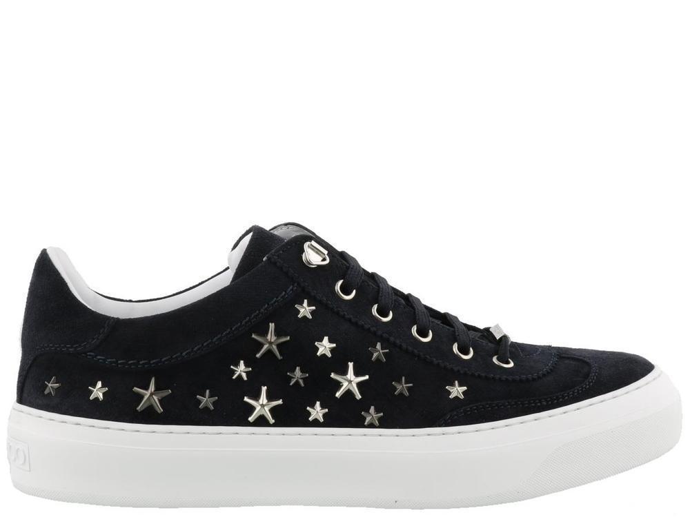 aeb0db2e2143 Lyst - Jimmy Choo Ace Stars Sneakers in Black for Men