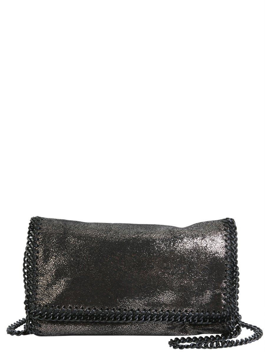 Stella Mccartney Falabella Chain Bag in Metallic - Lyst 60d4e0a09d9f5