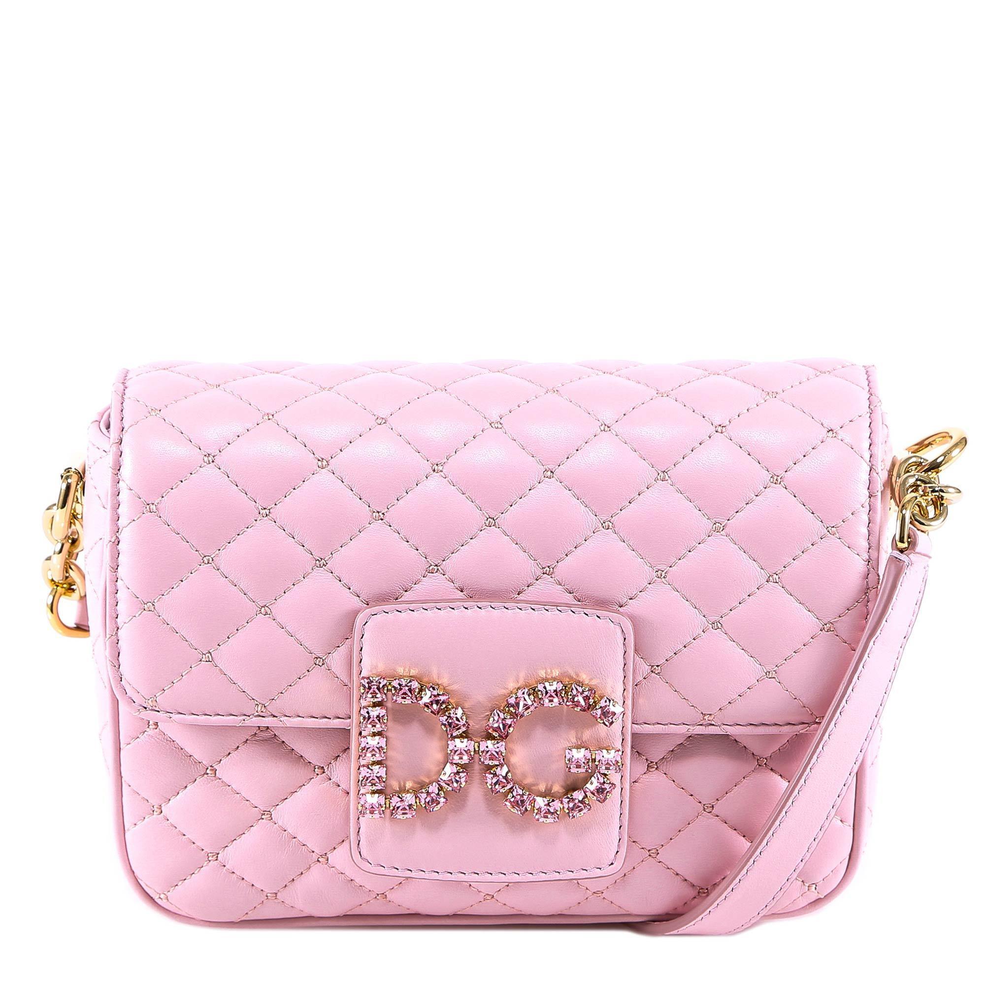 ed75ea2abf5d Lyst - Dolce   Gabbana Dg Millennials Crossbody Bag in Pink
