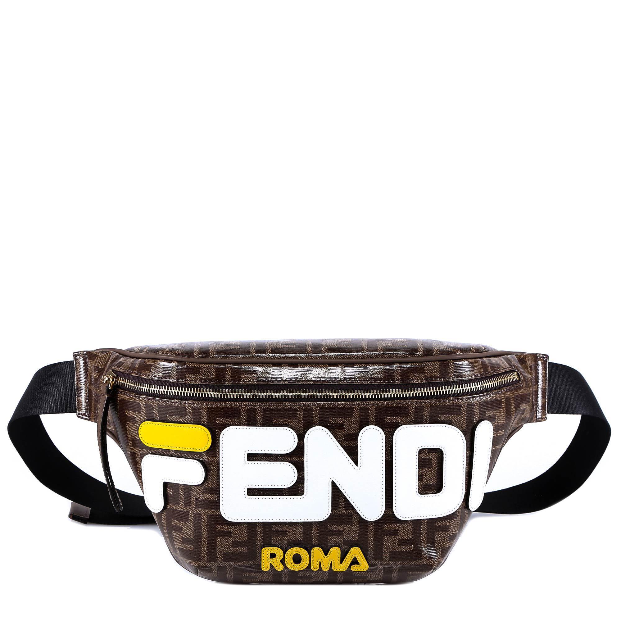 915bb02aee Fendi Ff Fila Belt Bag for Men - Lyst