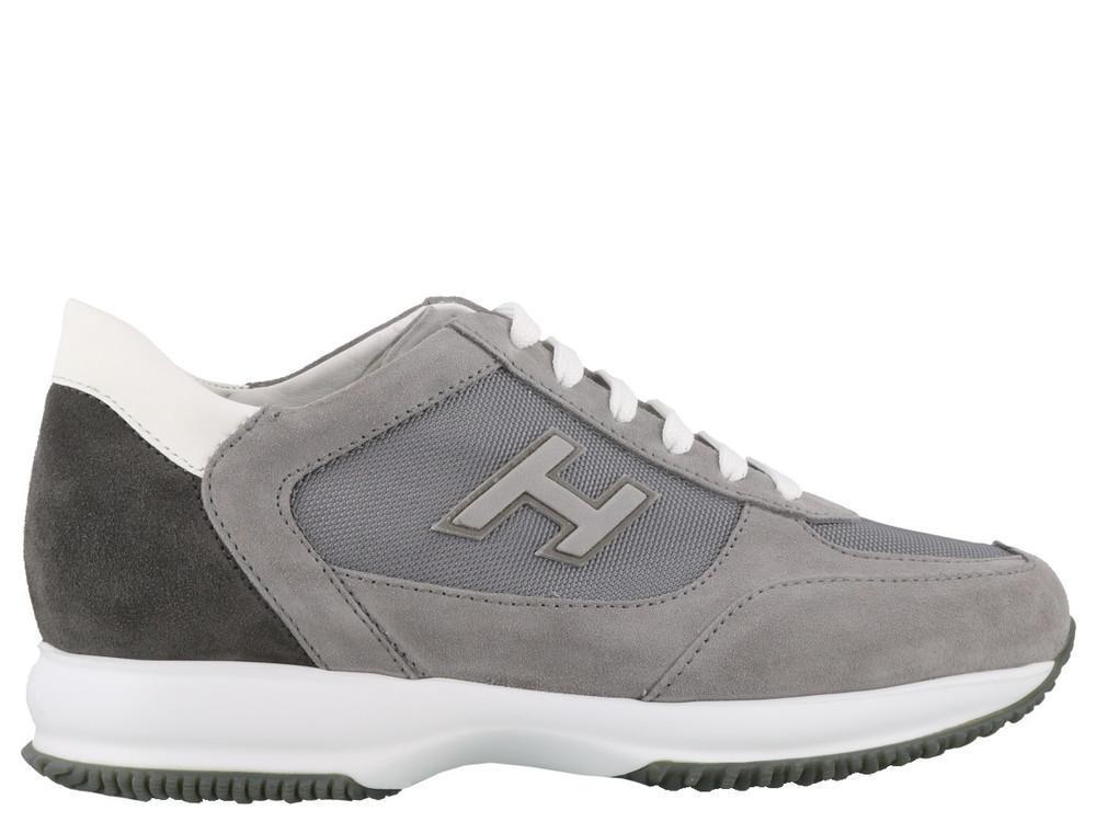 355172565ad Lyst - Hogan Low Top Sneakers in Gray for Men