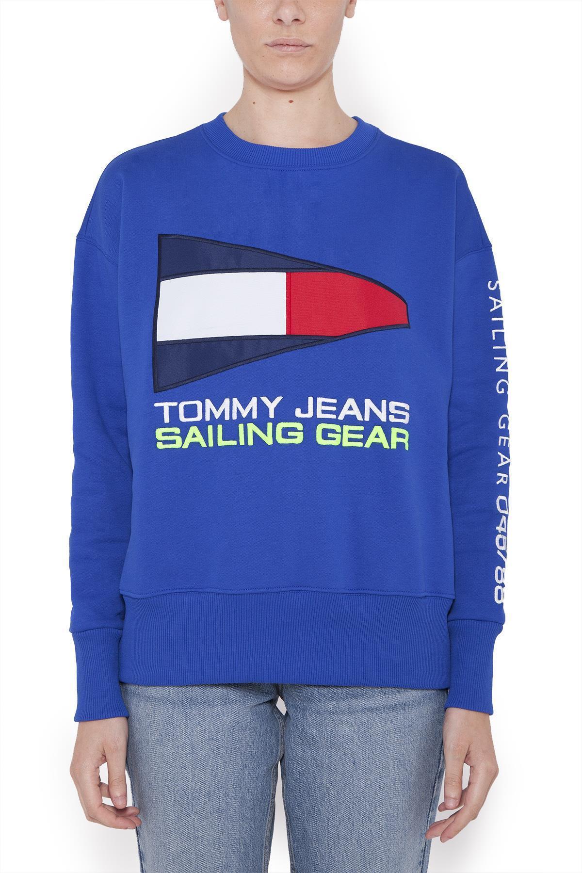 b13b8966 Tommy Hilfiger Sailing 90s Sweatshirt in Blue - Lyst