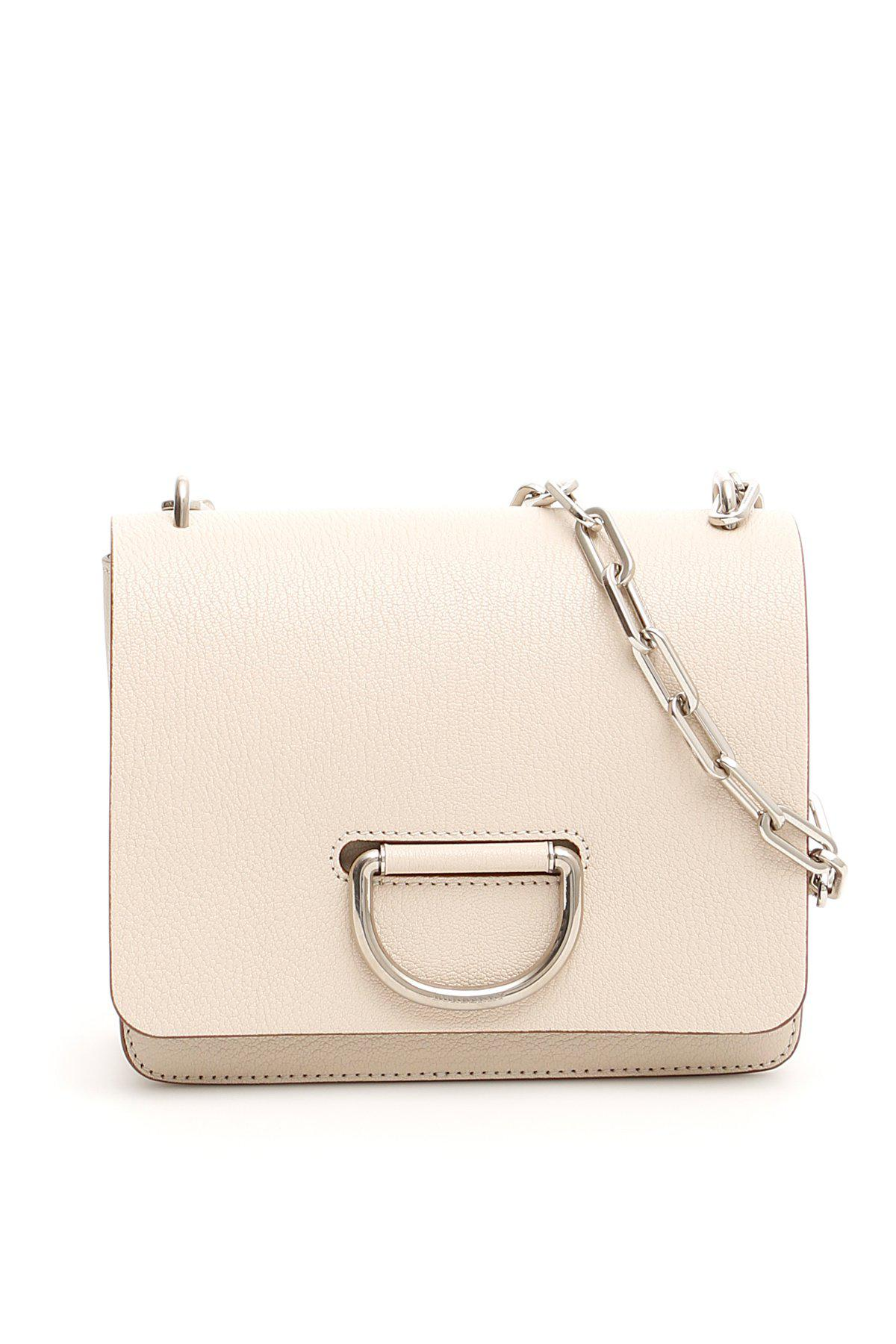 6a3fcc315759 Burberry Small Chain D Ring Shoulder Bag in Natural - Lyst