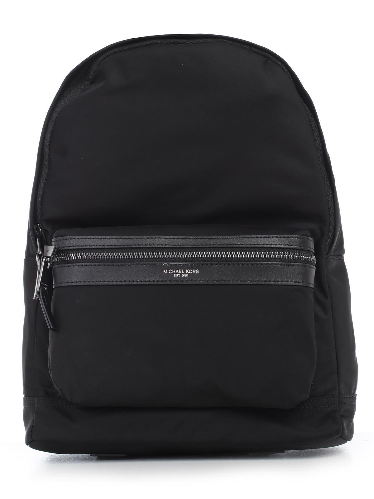 5836fd1231d7 Michael Kors - Black Kent Zipped Backpack for Men - Lyst. View fullscreen