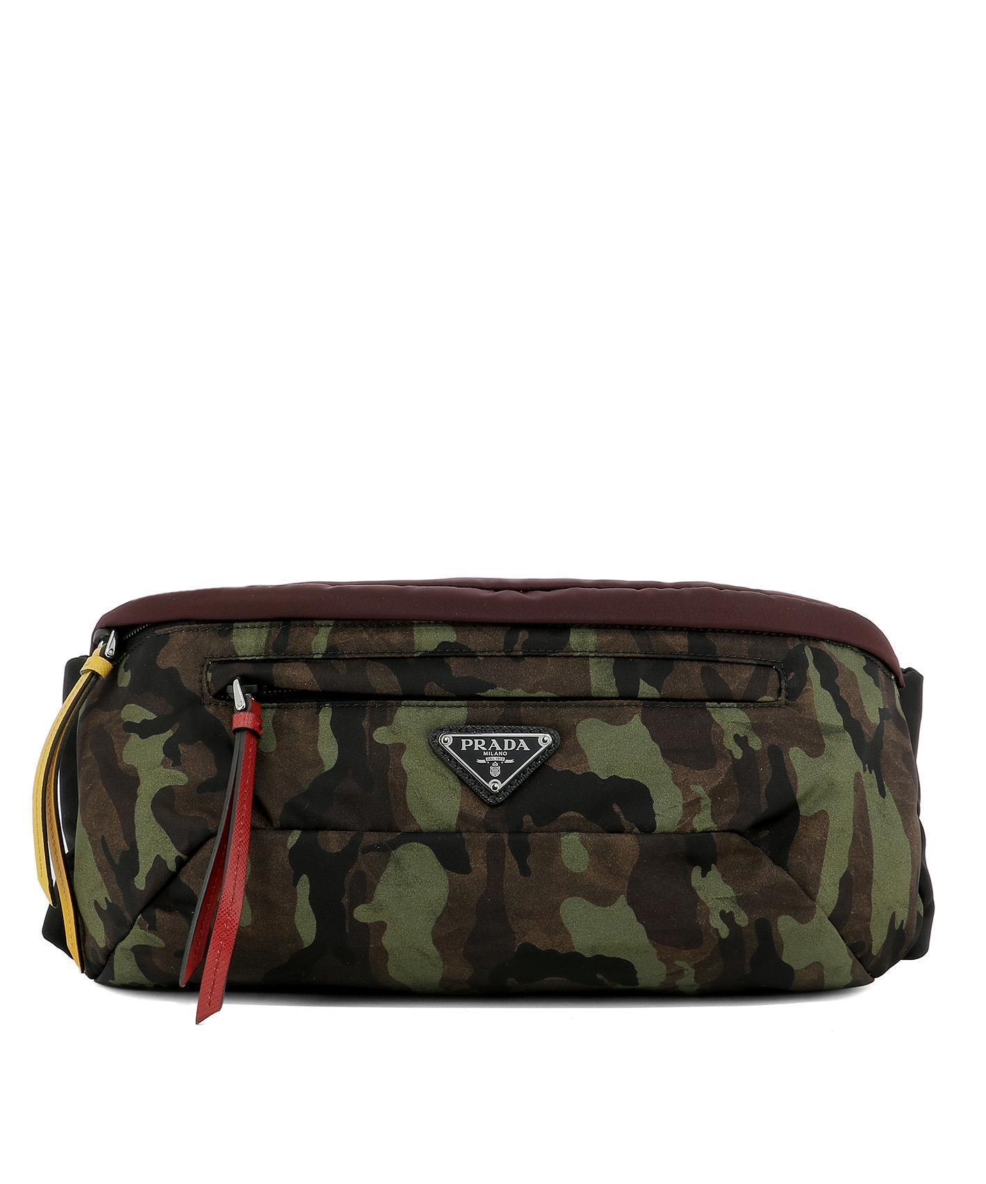 c7df97c145236 ... order prada multicolor montagan camouflage belt bag lyst. view  fullscreen bd9ab 9bf2f
