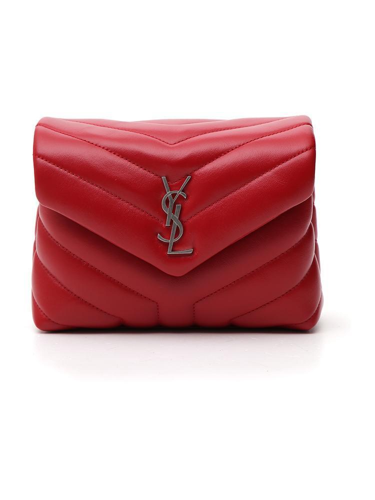 Saint Laurent Lou Lou Shoulder Bag in Red - Lyst b68c7ac16b784