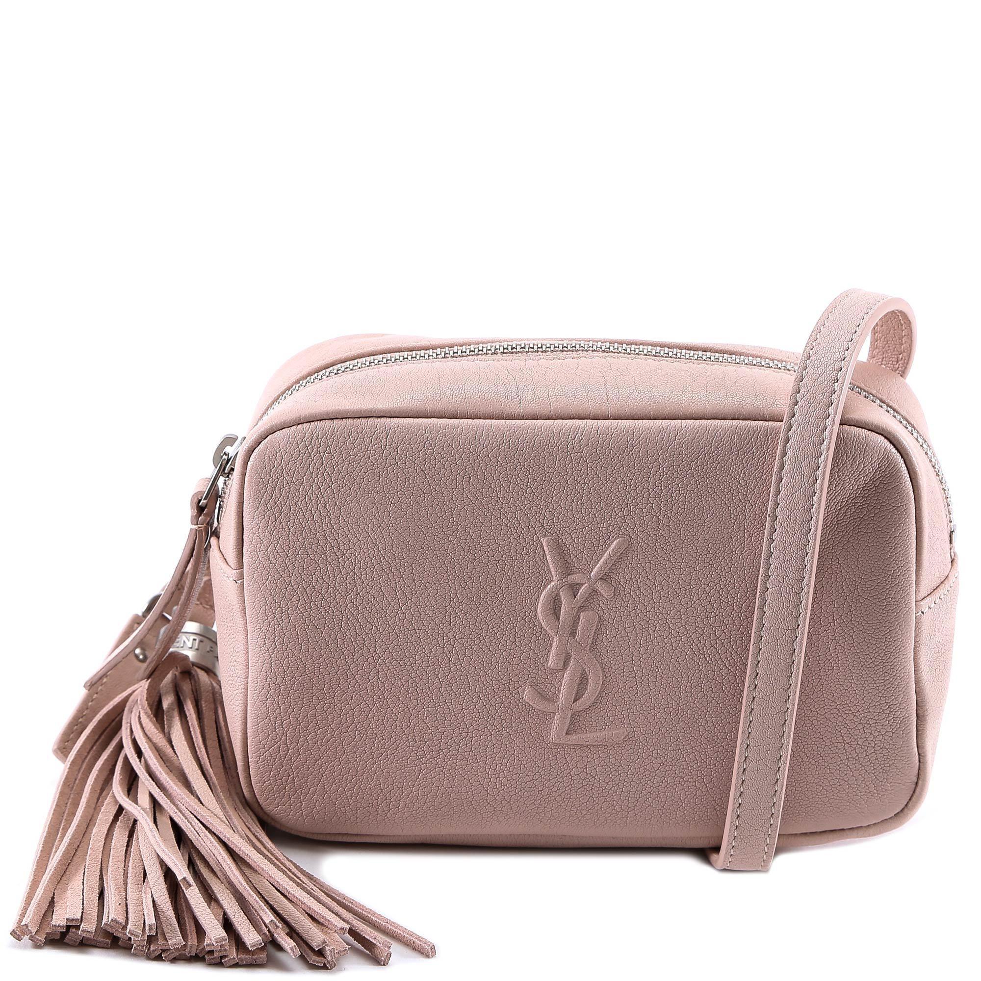 Lyst - Saint Laurent Monogram Belt Bag in Pink 841f66ba520da