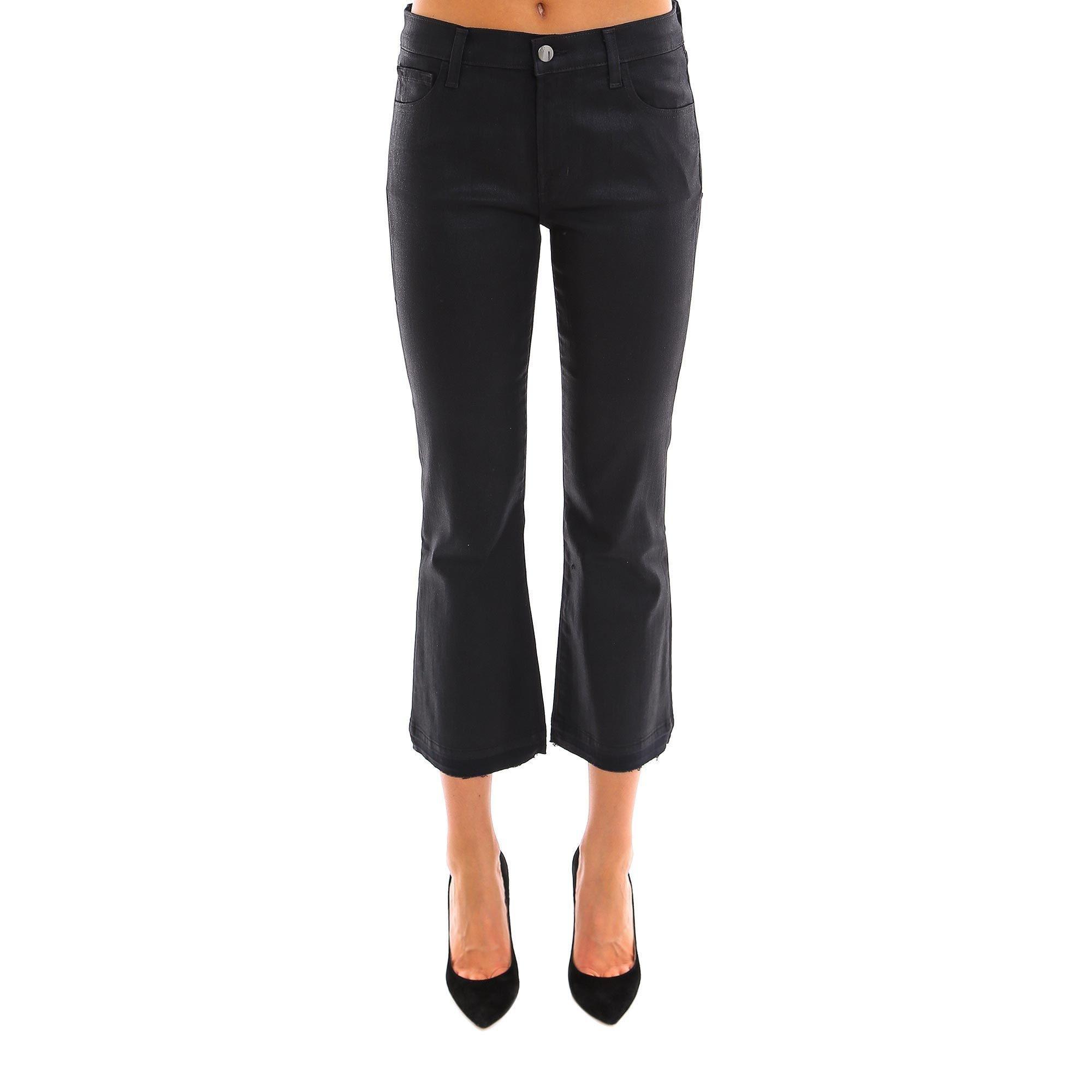 ba567e4a2cc3 Lyst - J Brand Selena Bootcut Flared Jeans in Black