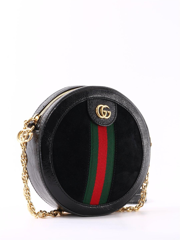 1764b4143 Lyst - Gucci Ophidia Crossbody Bag in Black - Save 27%