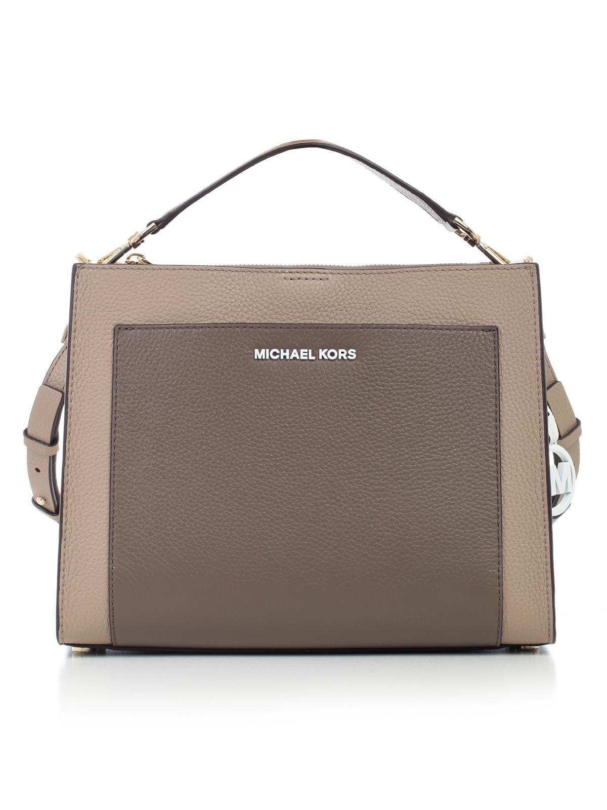 9864e3f877b93d MICHAEL Michael Kors Gemma Shoulder Bag in Brown - Lyst